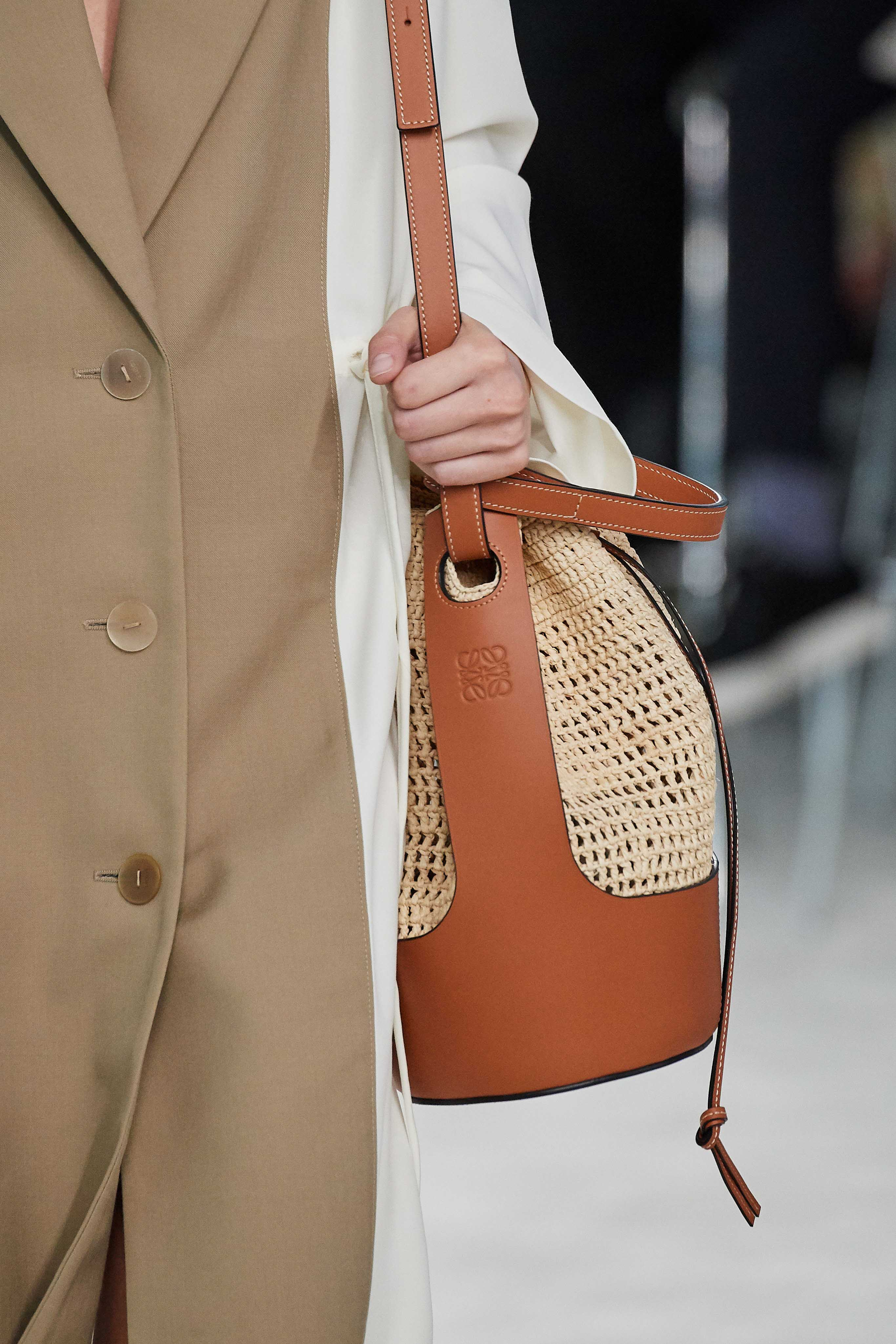 Loewe Spring Summer 2020 SS2020 trends runway coverage Ready To Wear Vogue bag