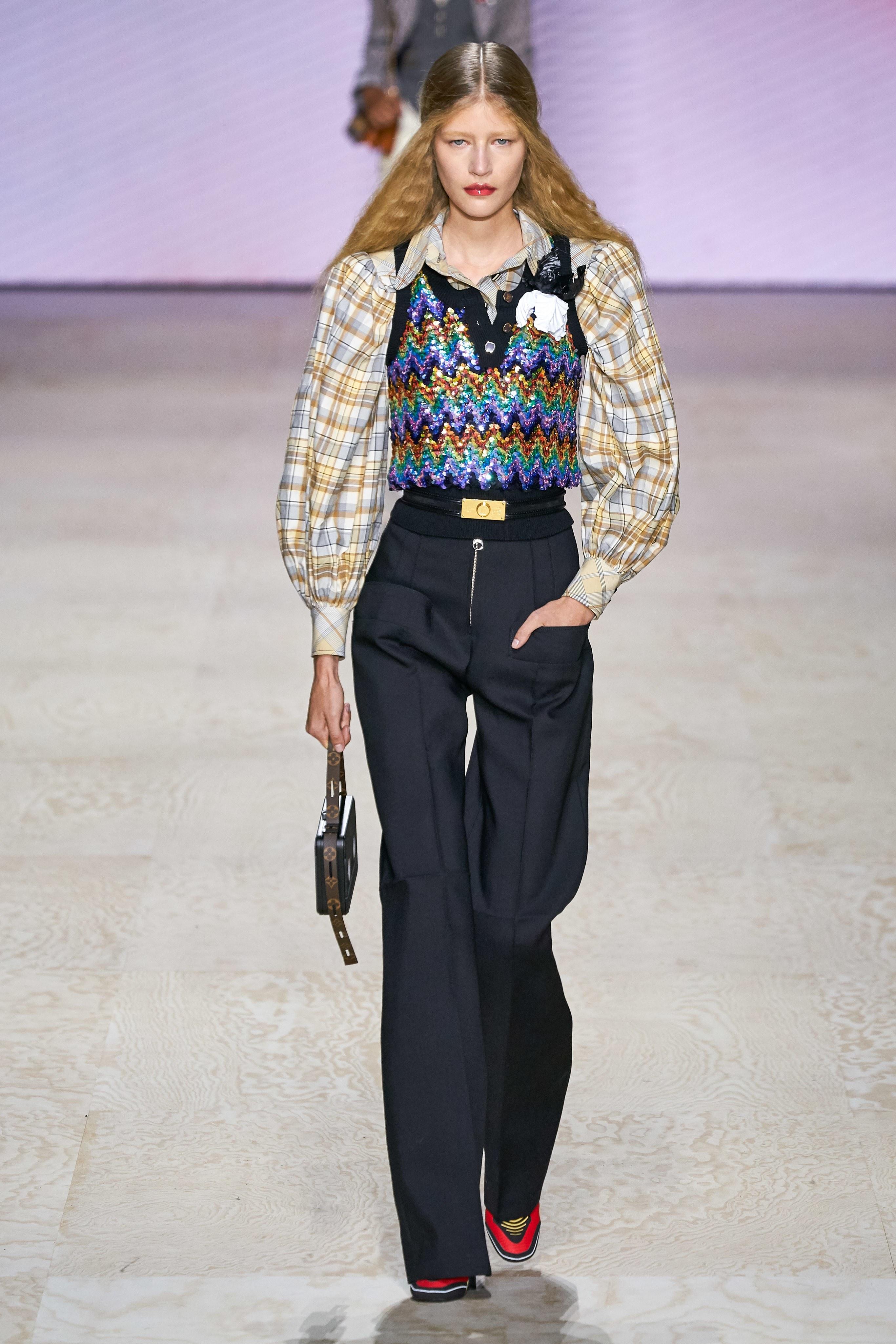 Louis Vuitton Spring Summer 2020 SS20 Vogue Runway sleeveless top