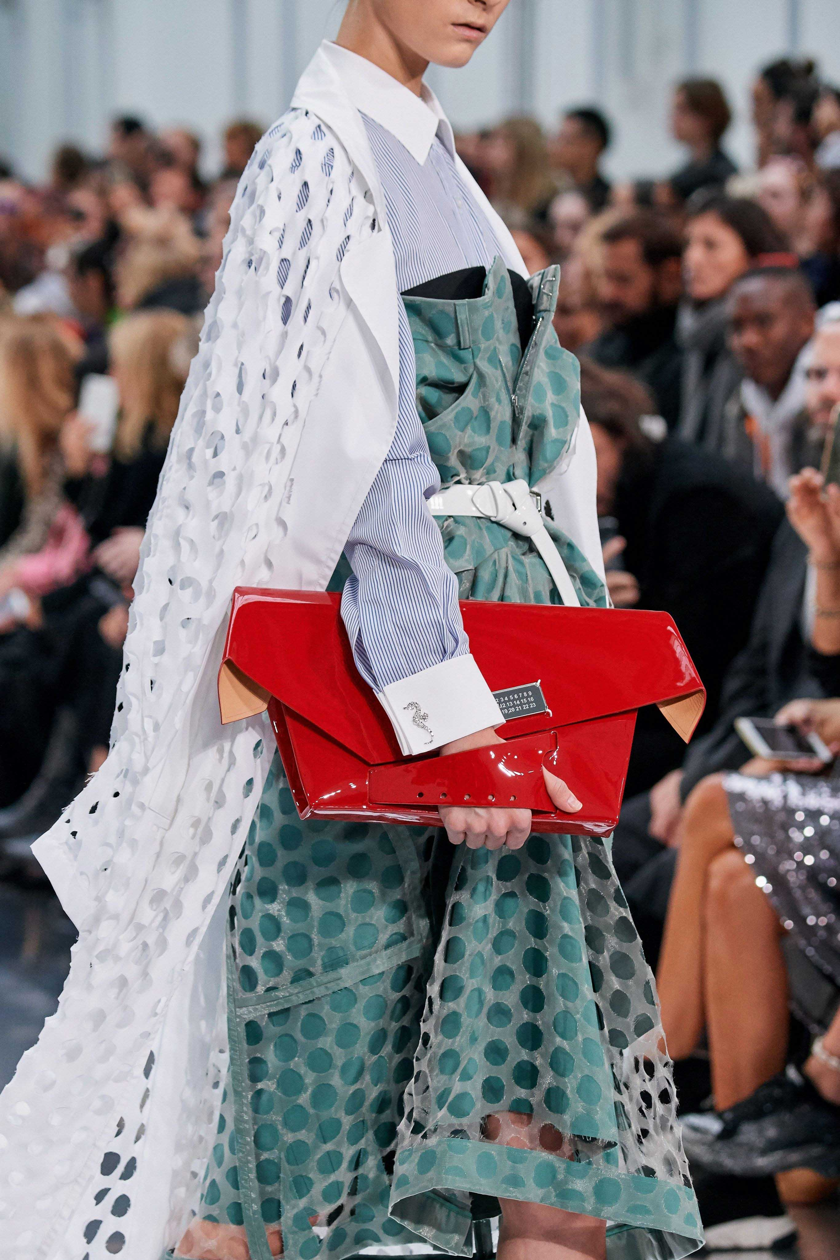 Maison Margiela Spring Summer 2020 SS2020 trends runway coverage Ready To Wear Vogue details bag