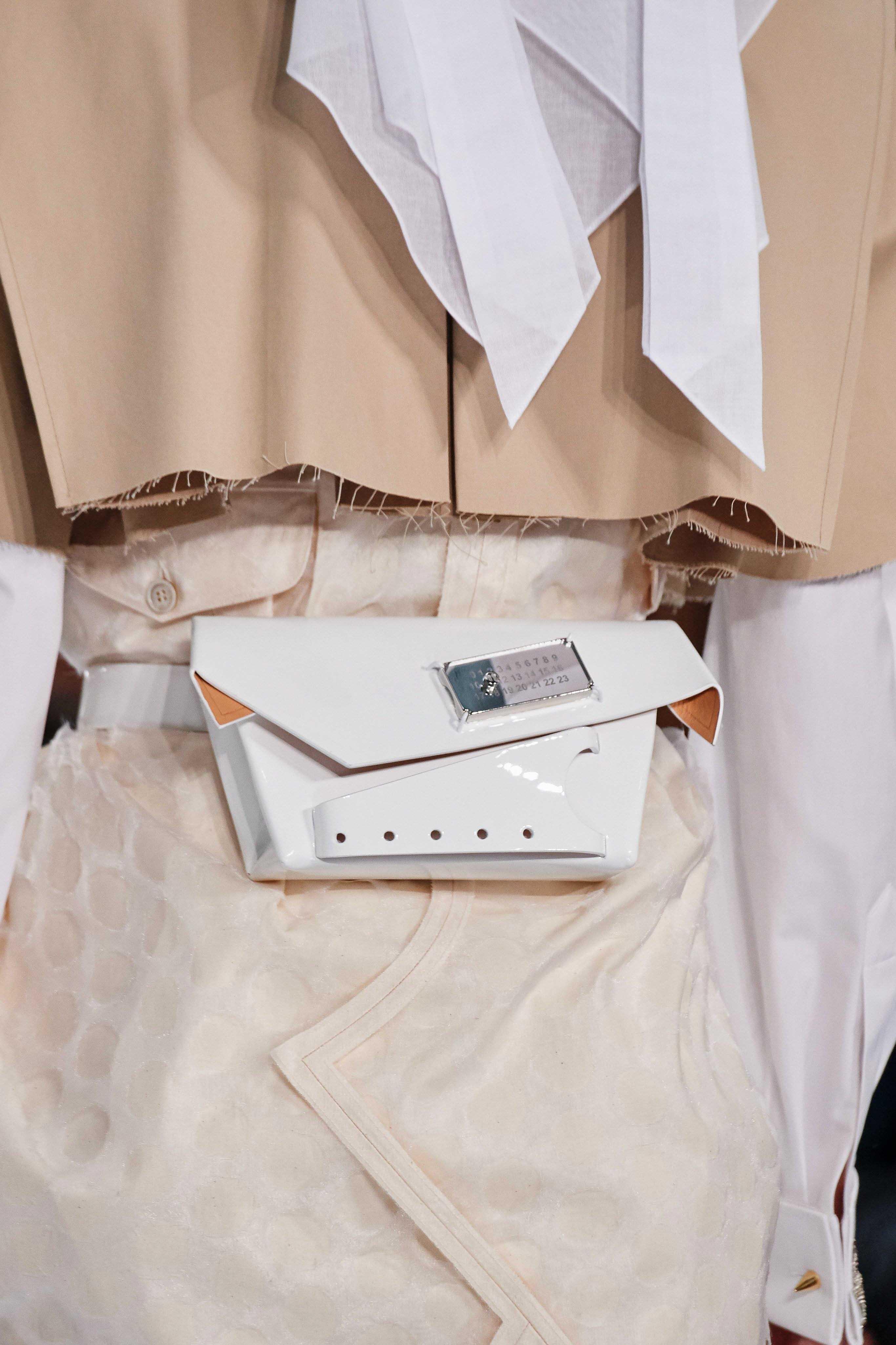 Maison Margiela Spring Summer 2020 SS2020 trends runway coverage Ready To Wear Vogue details belt bag