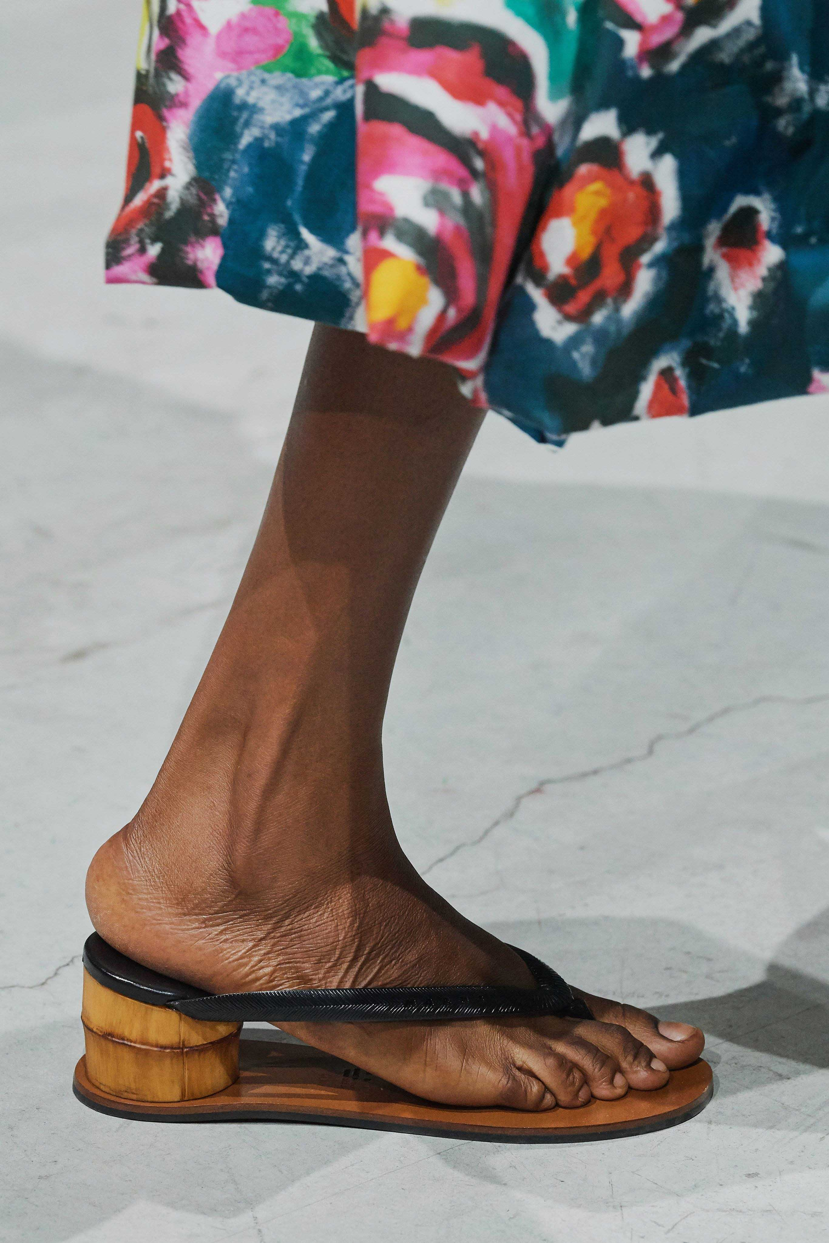 Marni Spring Summer 2020 SS2020 trends runway coverage Ready To Wear Vogue sandals