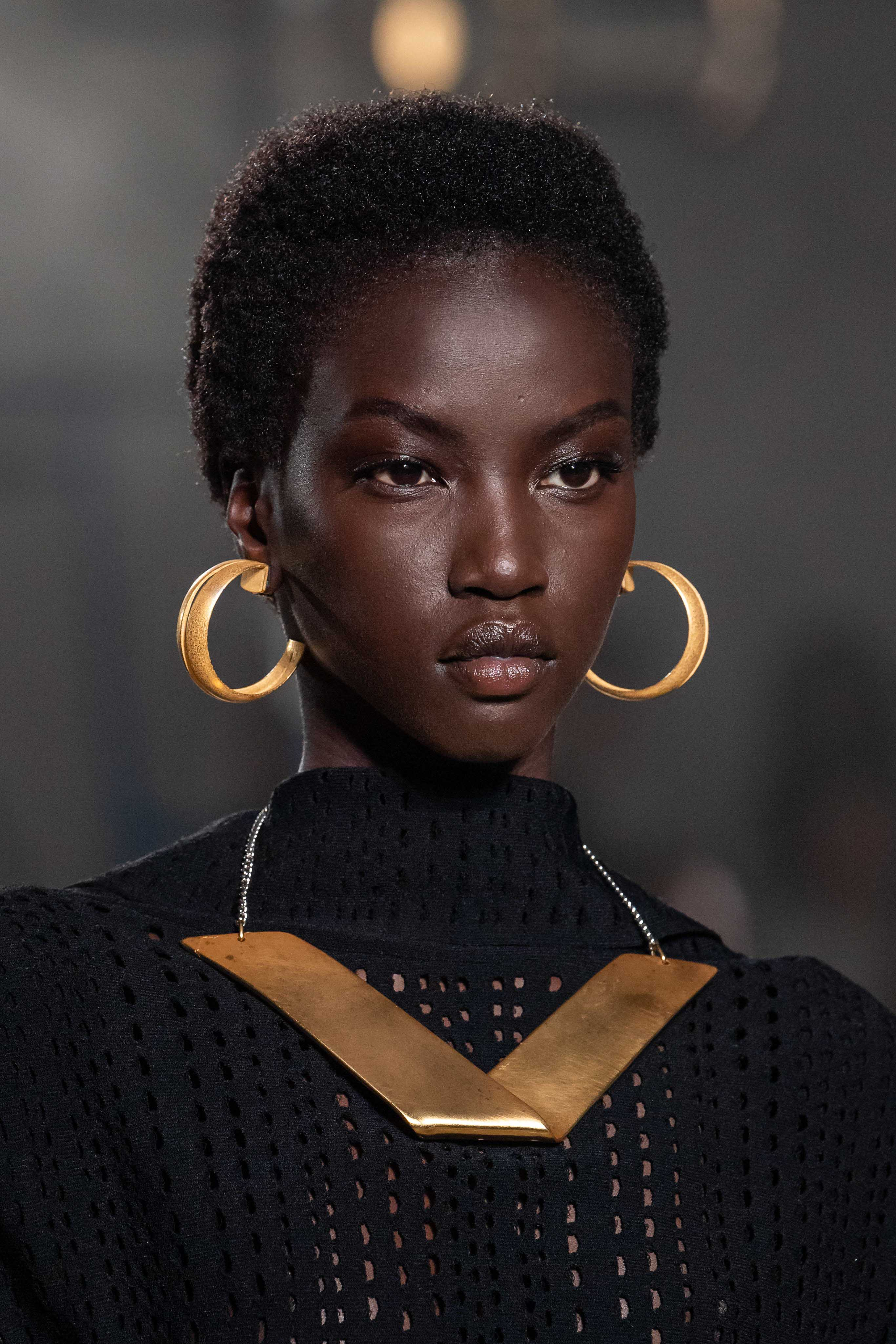 Proenza Schouler Spring Summer 2020 SS2020 trends runway coverage Ready To Wear Vogue necklace