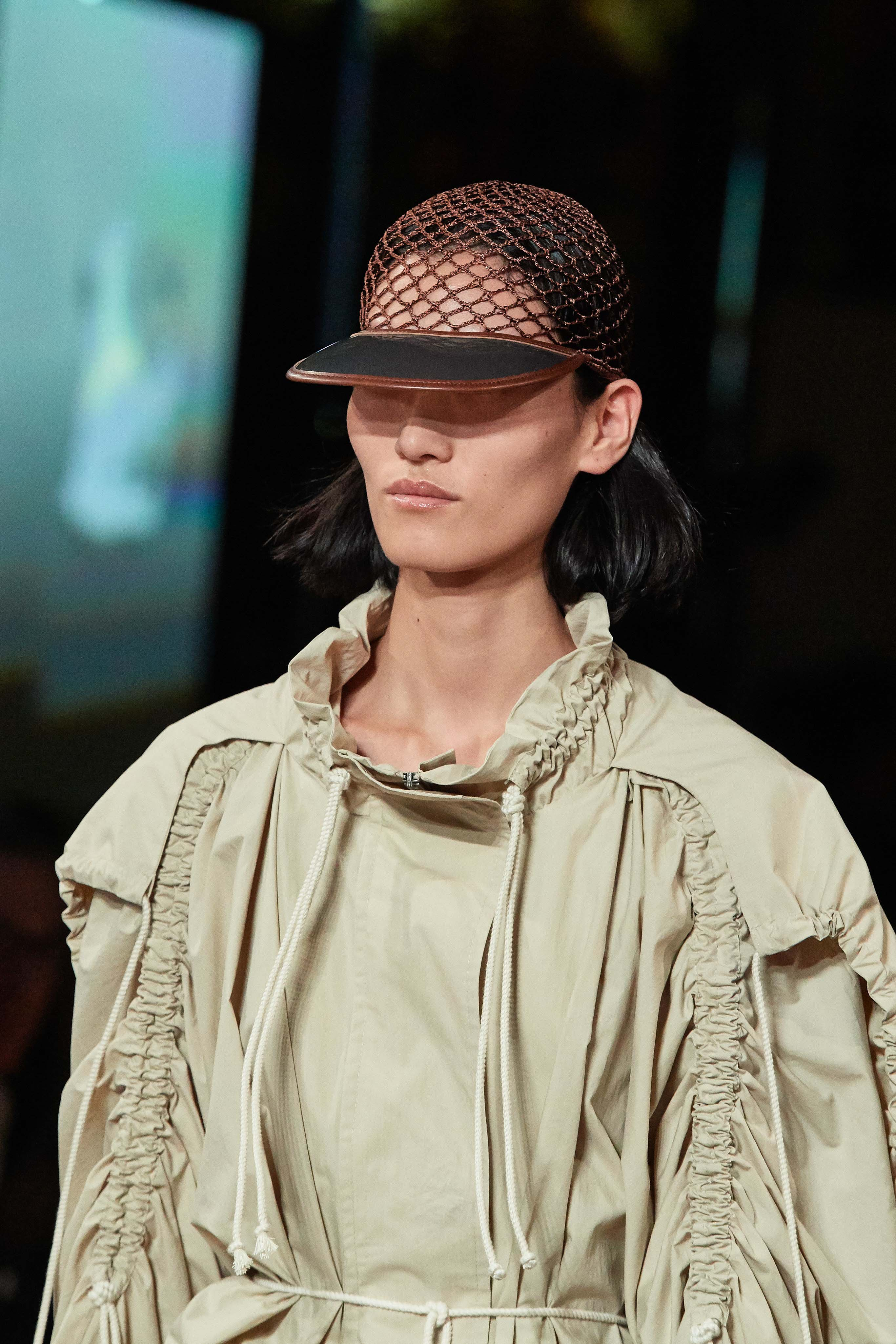 Stella McCartney Spring Summer 2020 SS2020 trends runway coverage Ready To Wear Vogue details hat