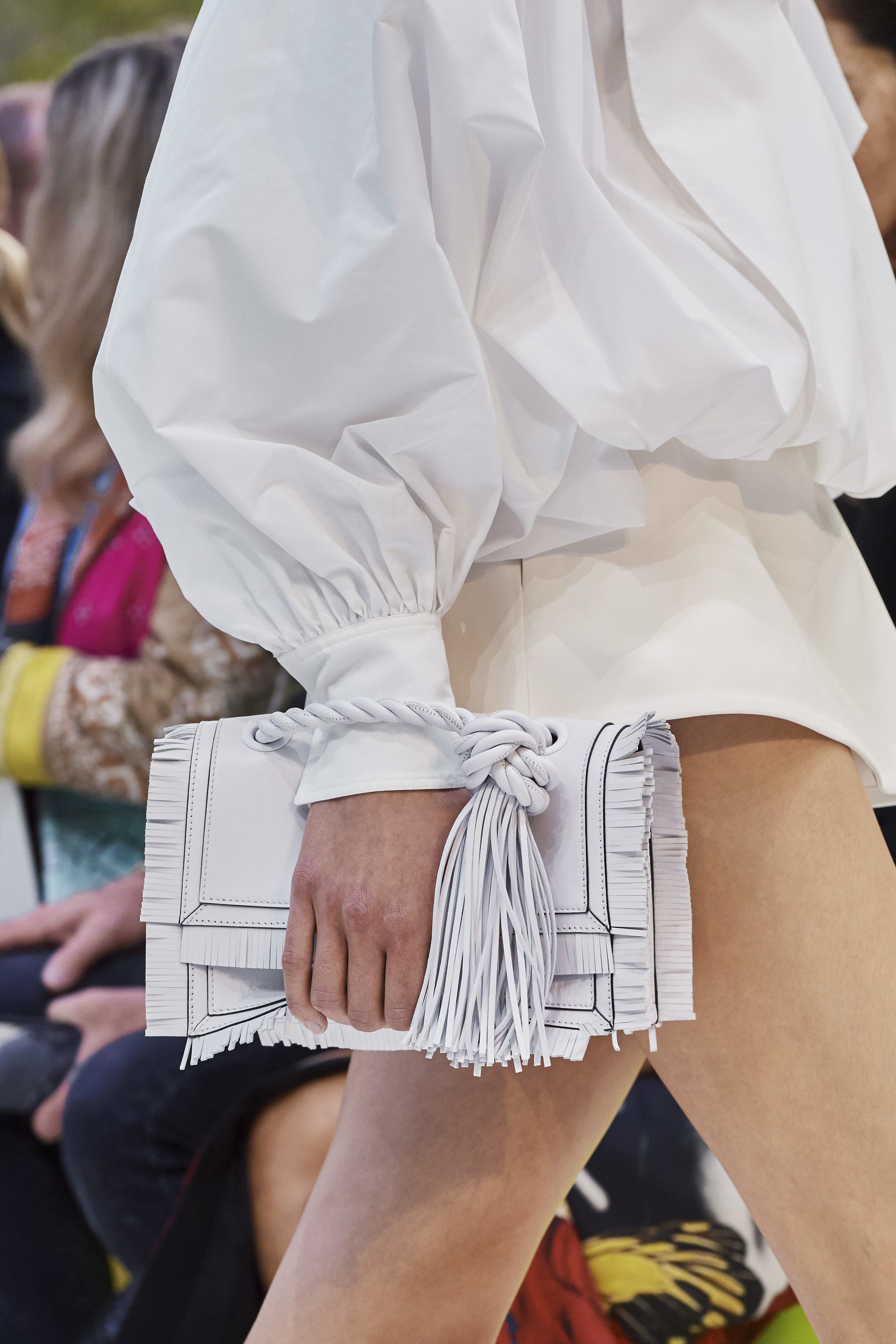 Valentino Spring Summer 2020 SS2020 trends runway coverage Ready To Wear Vogue details bag