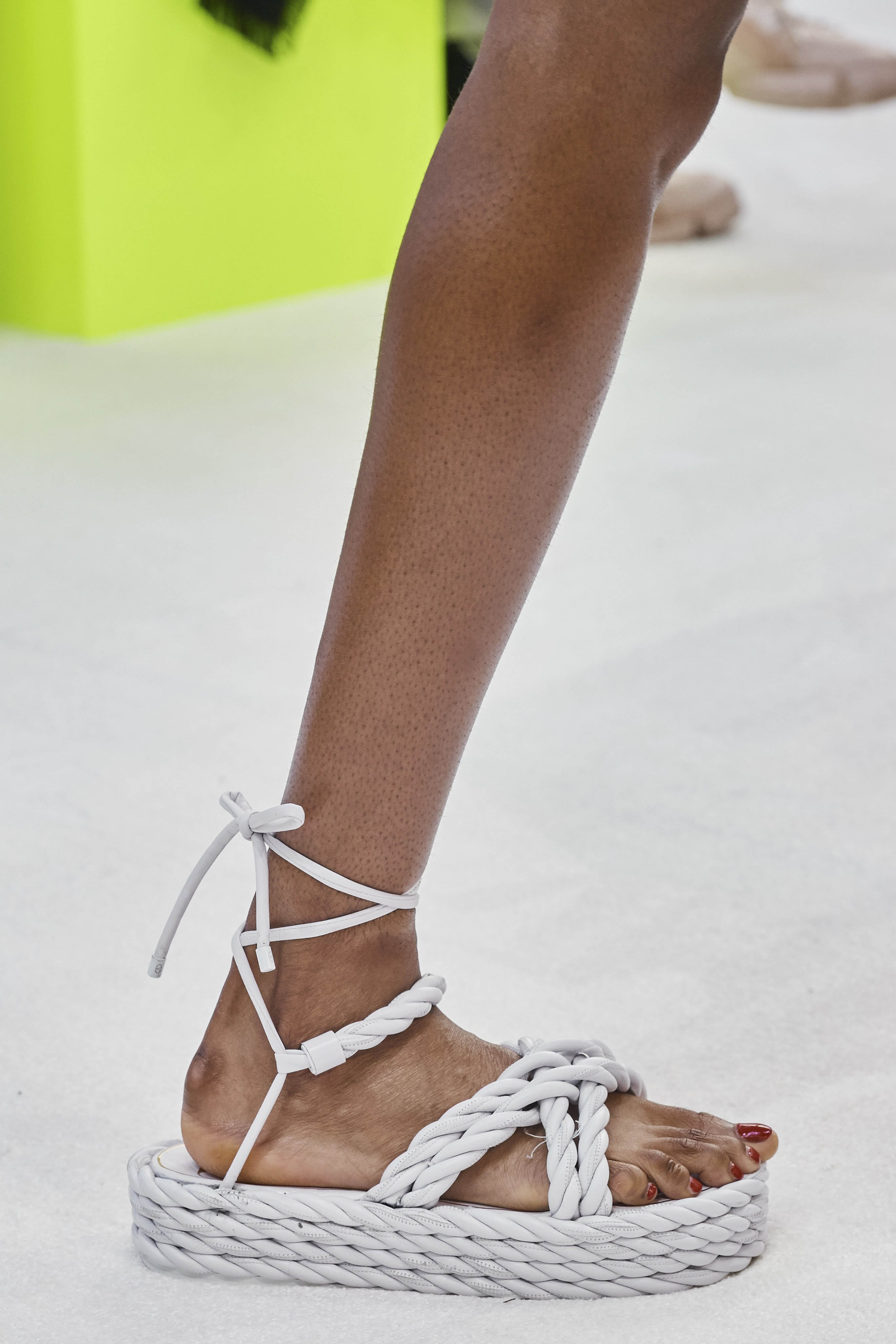 Valentino Spring Summer 2020 SS2020 trends runway coverage Ready To Wear Vogue details shoes