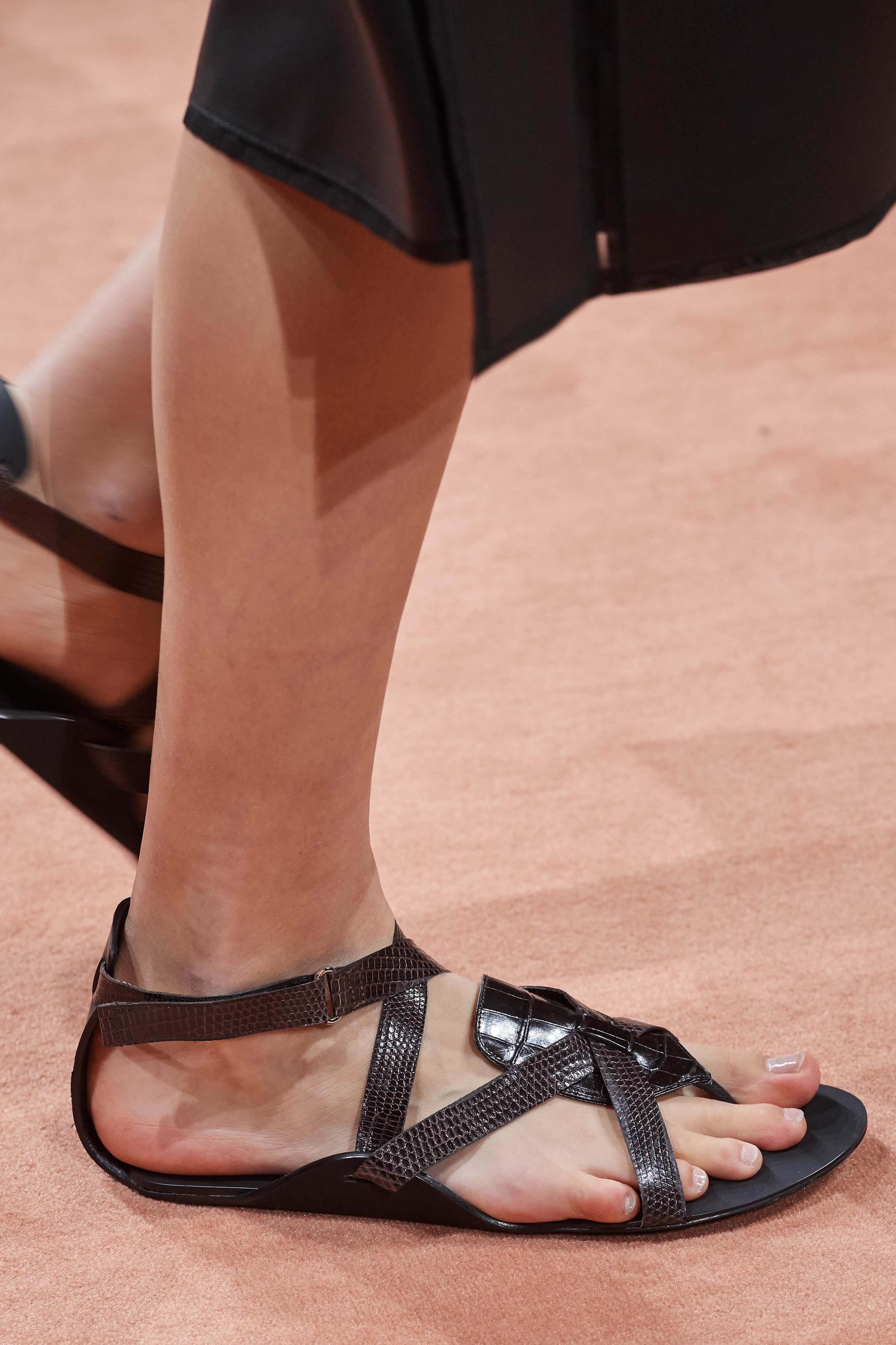 Hermes Spring Summer 2020 SS2020 trends runway coverage Ready To Wear Vogue shoes