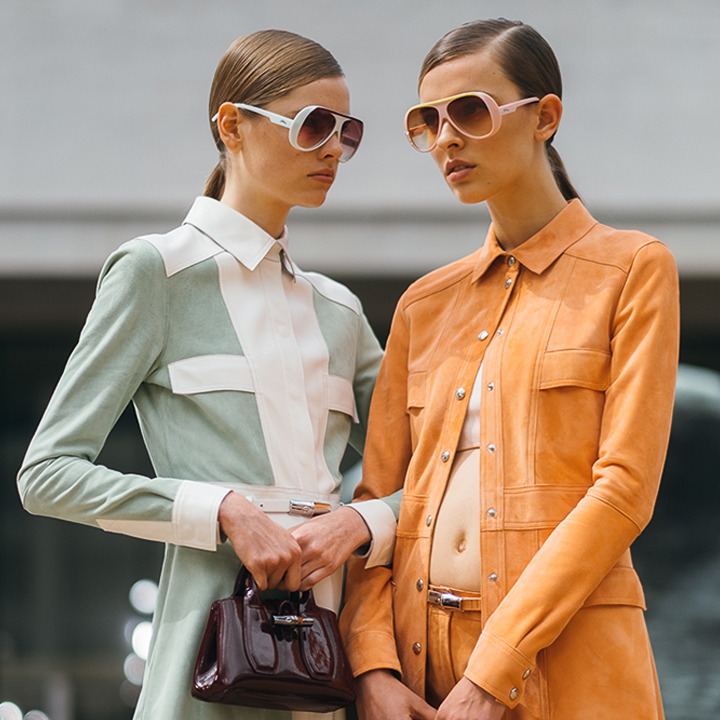 longchamp Spring Summer 2020 SS2020 trends runway coverage Ready To Wear Vogue sunglasses