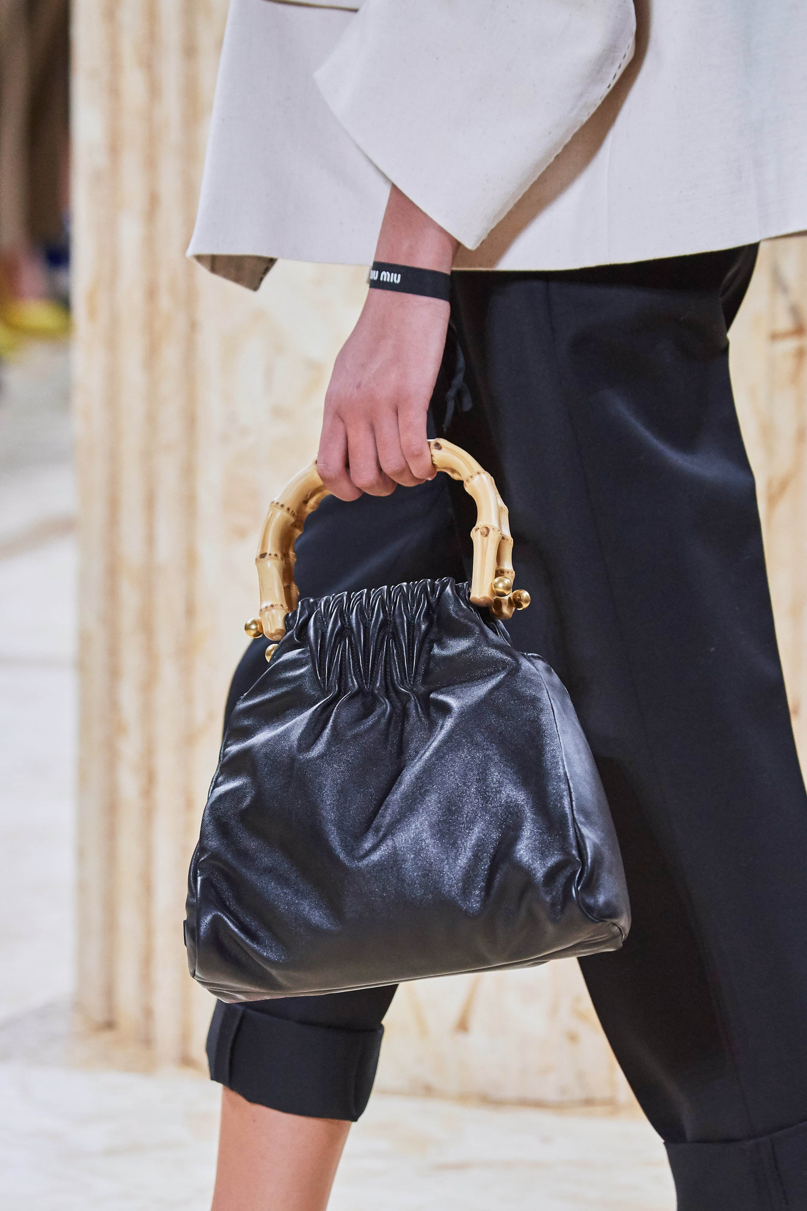 MiuMiu Spring Summer 2020 SS2020 trends runway coverage Ready To Wear Vogue bag