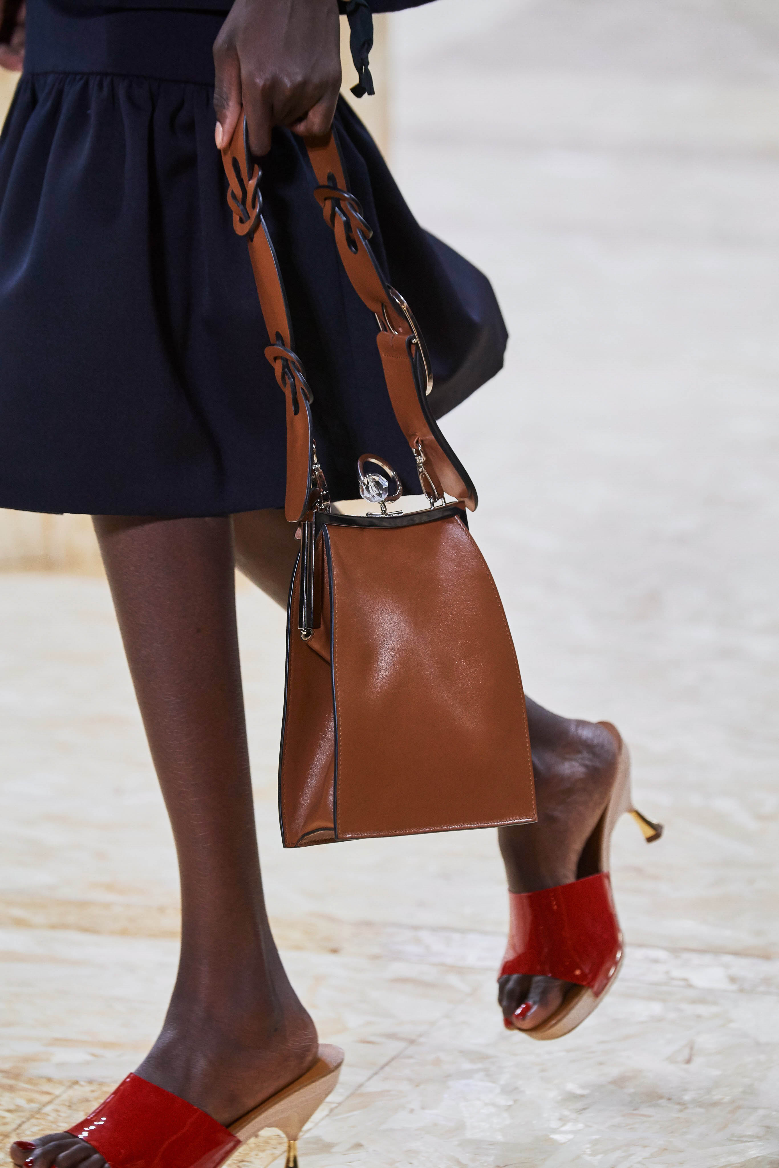 MiuMiu Spring Summer 2020 SS2020 trends runway coverage Ready To Wear Vogue details shoes and bag
