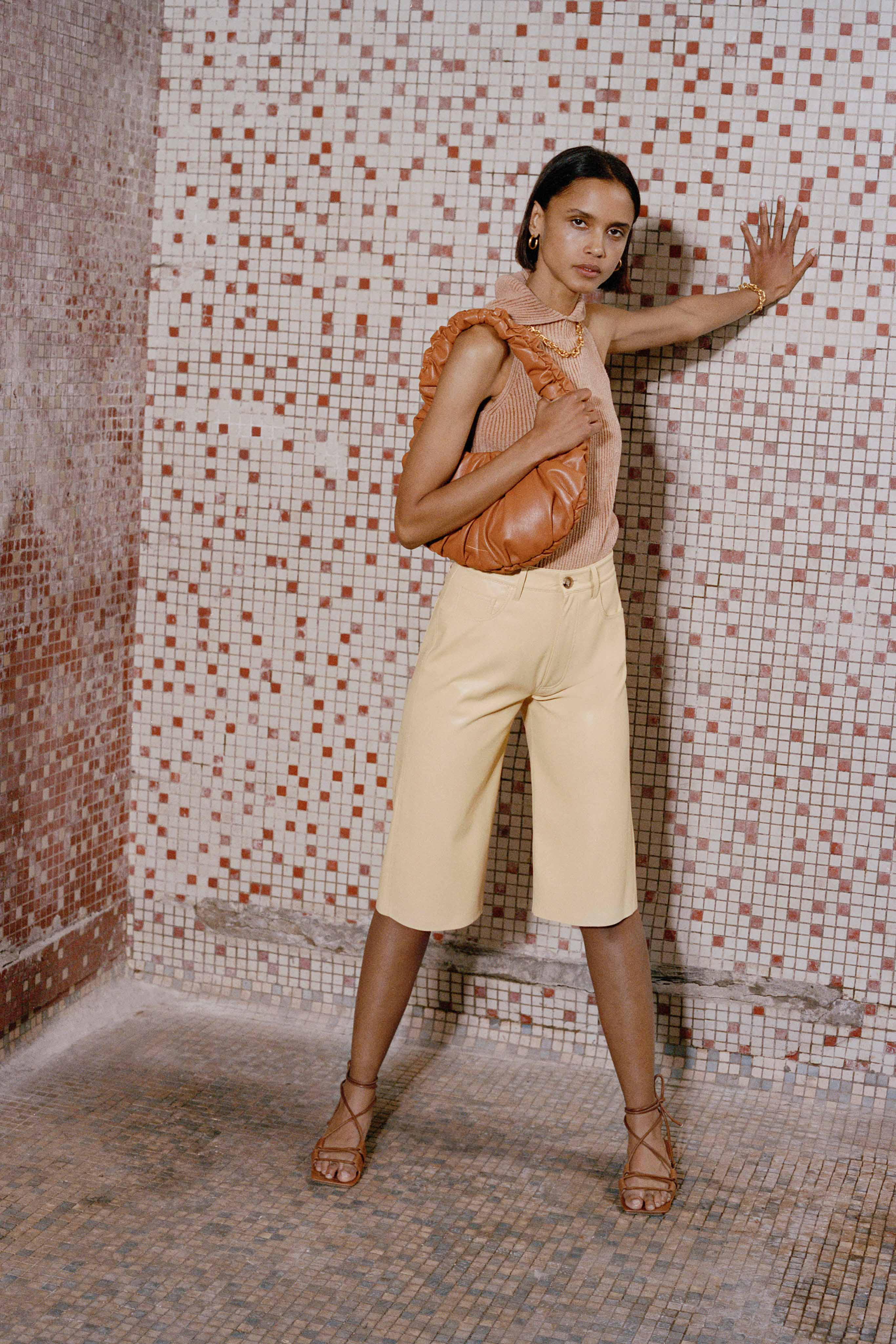 Nanushka Pre fall 2020 Lookbook trends runway coverage Ready To Wear Vogue fall bag