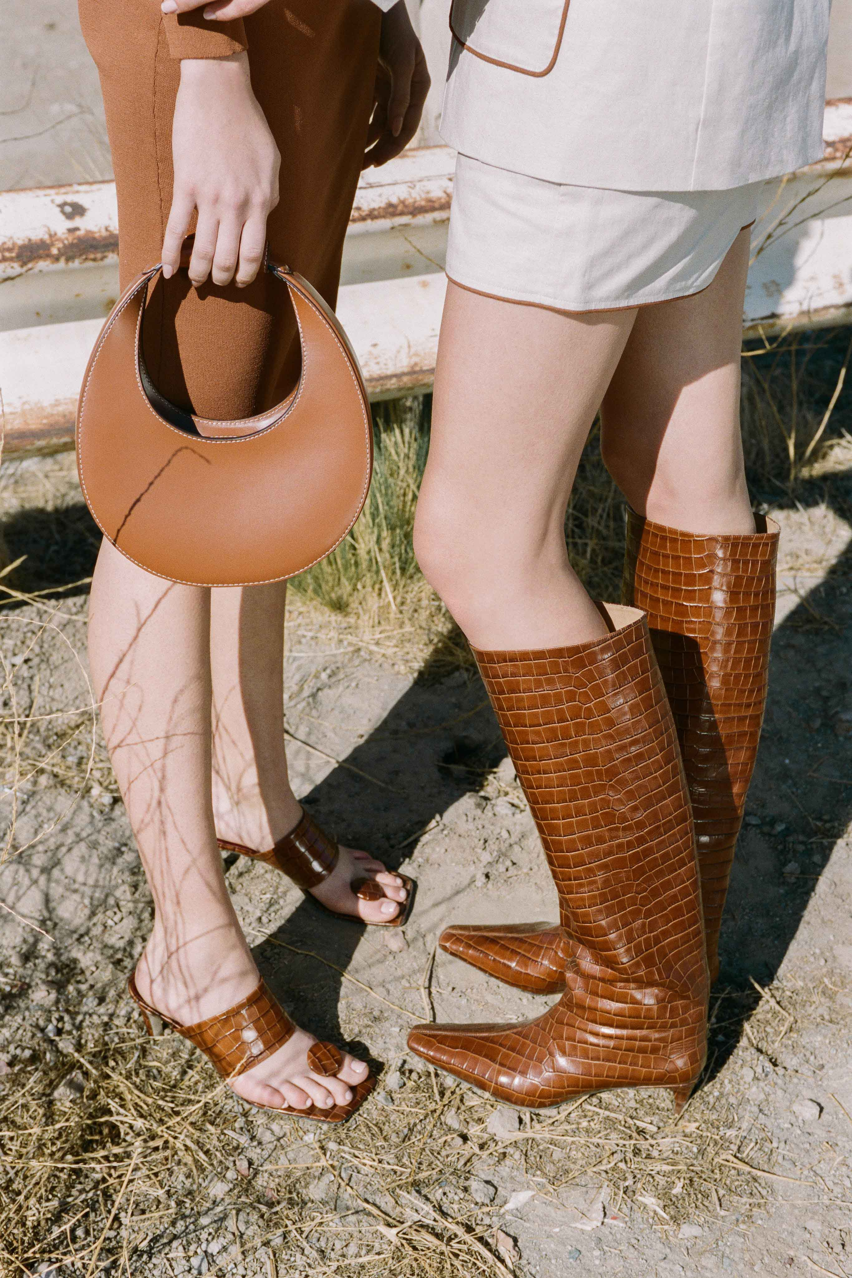Staud Pre fall 2020 Lookbook trends runway coverage Ready To Wear Vogue fall boots