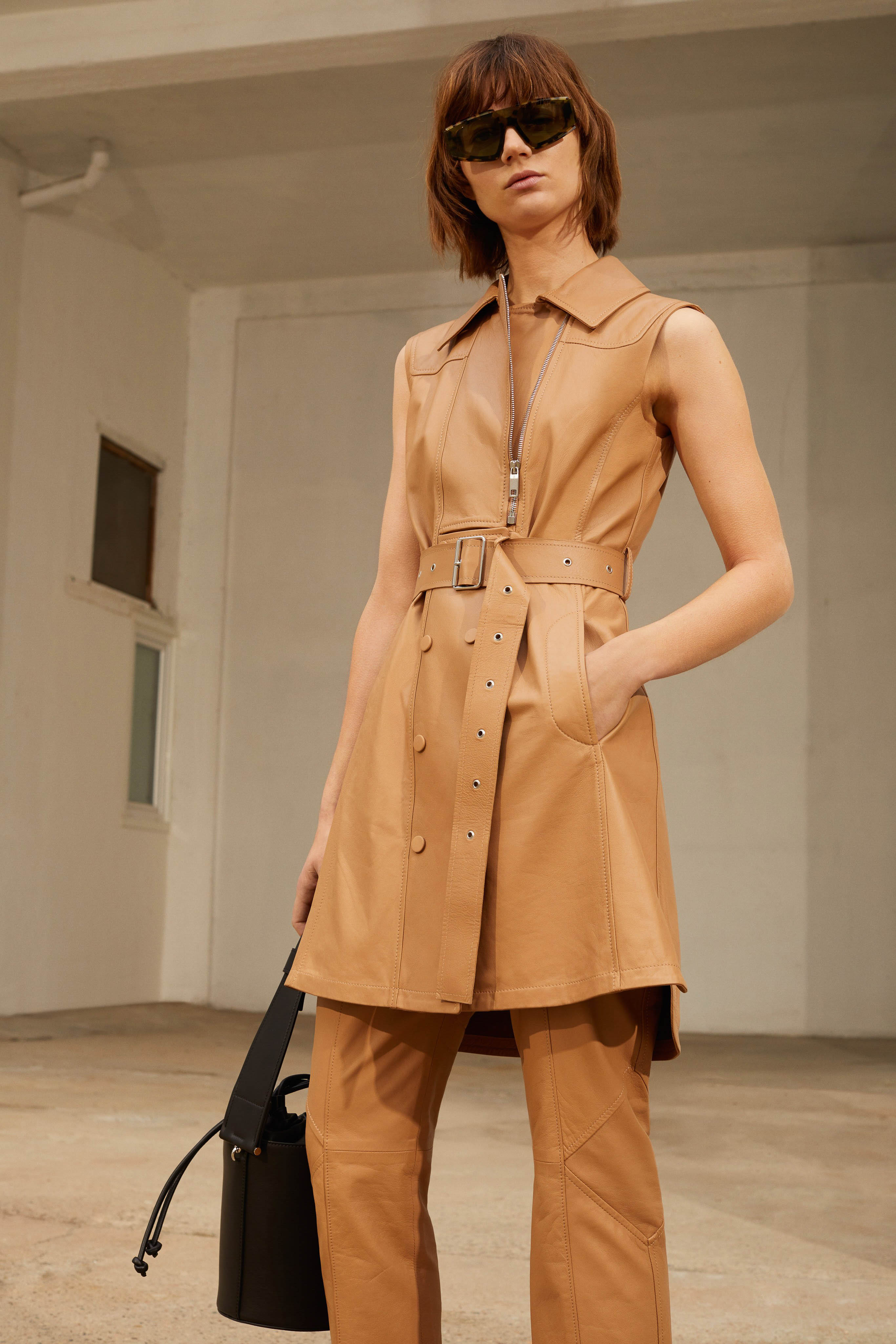 Sportmax Pre fall 2020 Lookbook trends runway coverage Ready To Wear Vogue sleeveless jacket vest