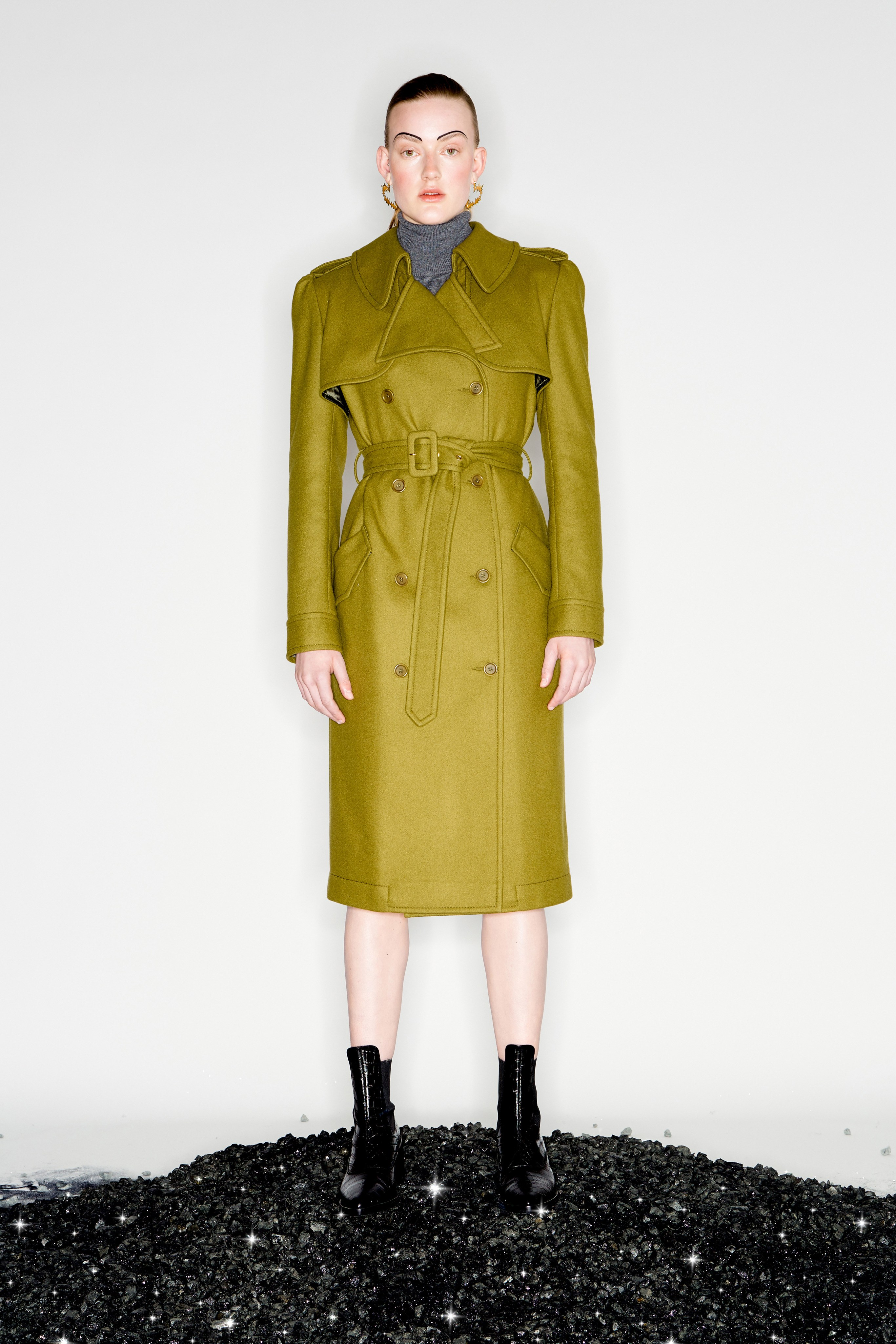 KAREN WALKER Pre fall 2020 Lookbook trends runway coverage Ready To Wear Vogue coat