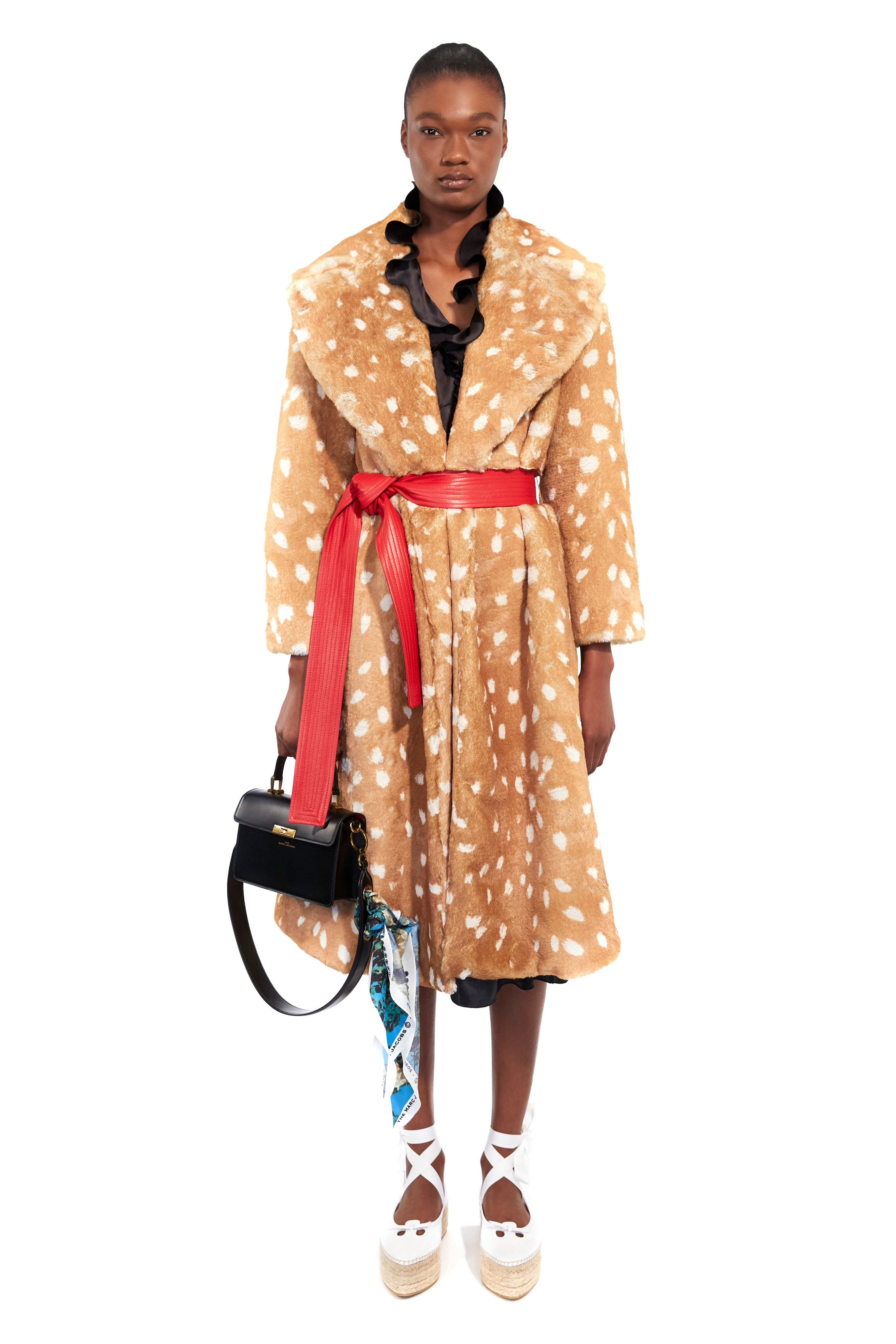 Marc Jacobs Pre fall 2020 Lookbook trends runway coverage Ready To Wear Vogue coat