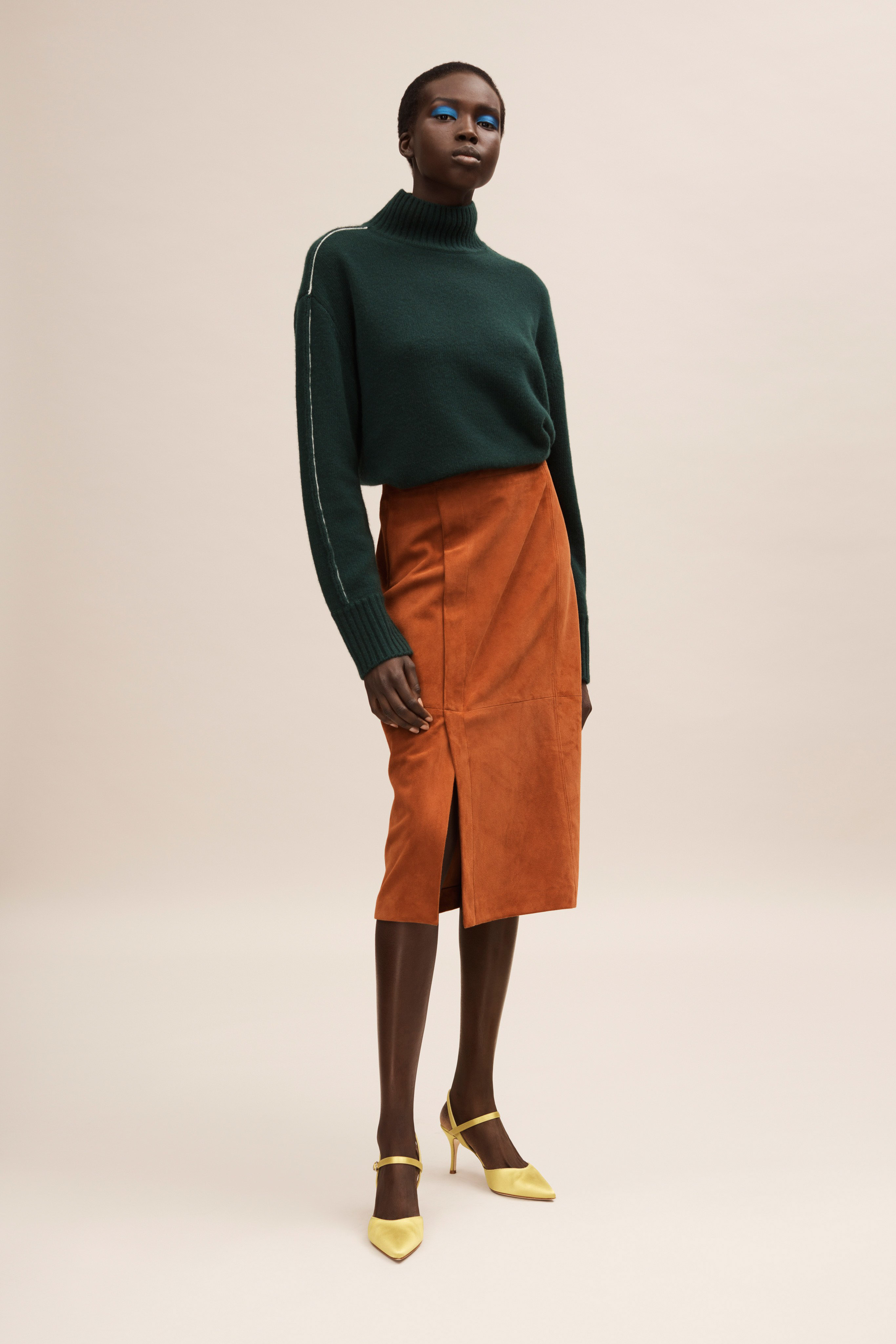 Jason Wu Pre fall 2020 Lookbook trends runway coverage Ready To Wear Vogue skirt with slit