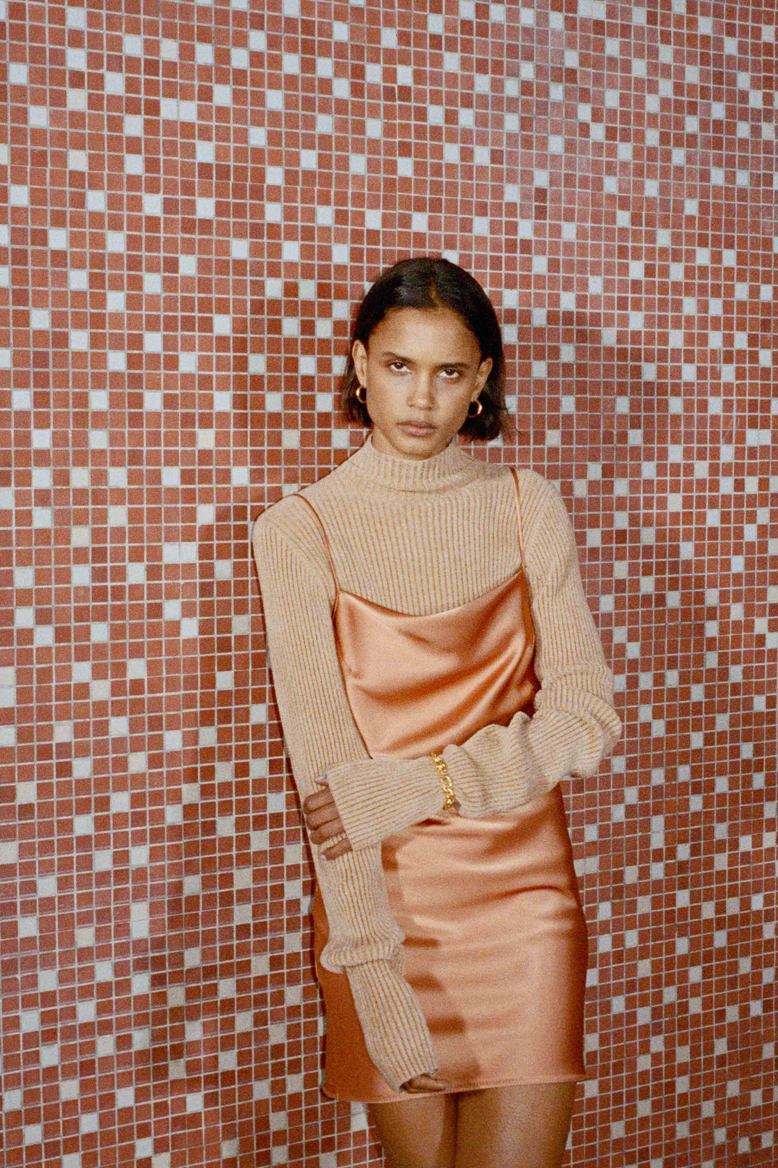 Nanushka Pre fall 2020 Lookbook trends runway coverage Ready To Wear Vogue fall neutrals