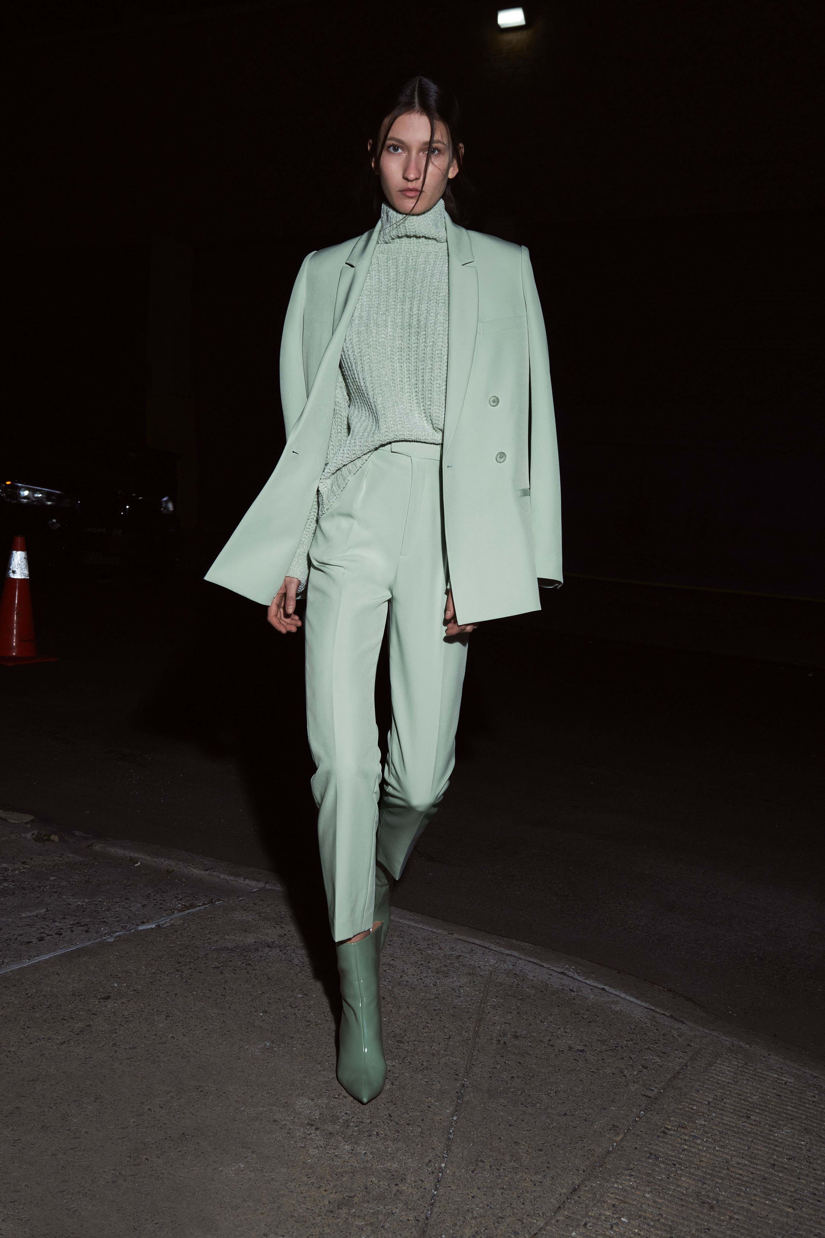 Sally LaPointe Pre fall 2020 Lookbook trends runway coverage Ready To Wear Vogue Monochrome