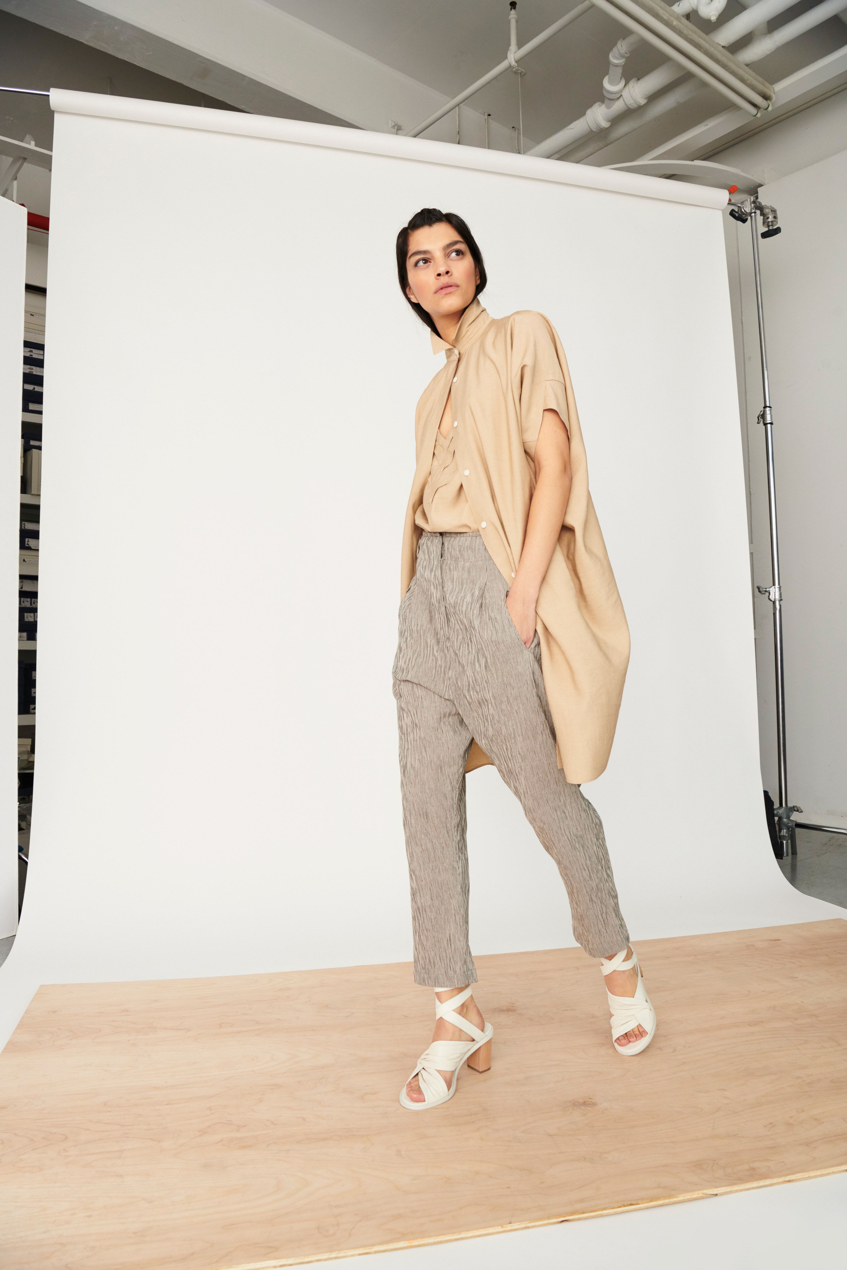 Zero Maria Cornejo Pre fall 2020 Lookbook trends runway coverage Ready To Wear Vogue fall neutrals