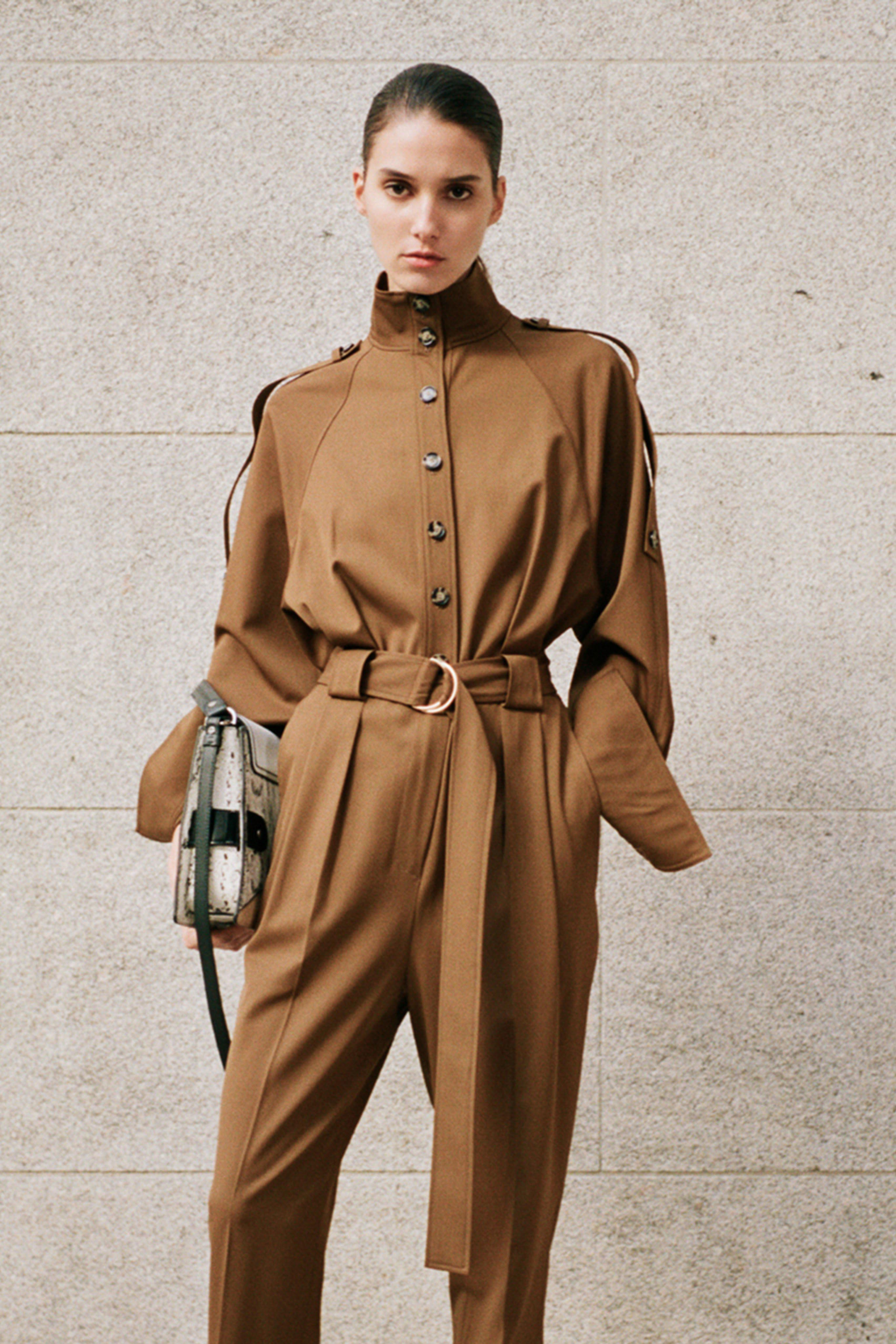 PROENZA SCHOULER Pre fall 2020 Lookbook trends runway coverage Ready To Wear Vogue fall neutrals