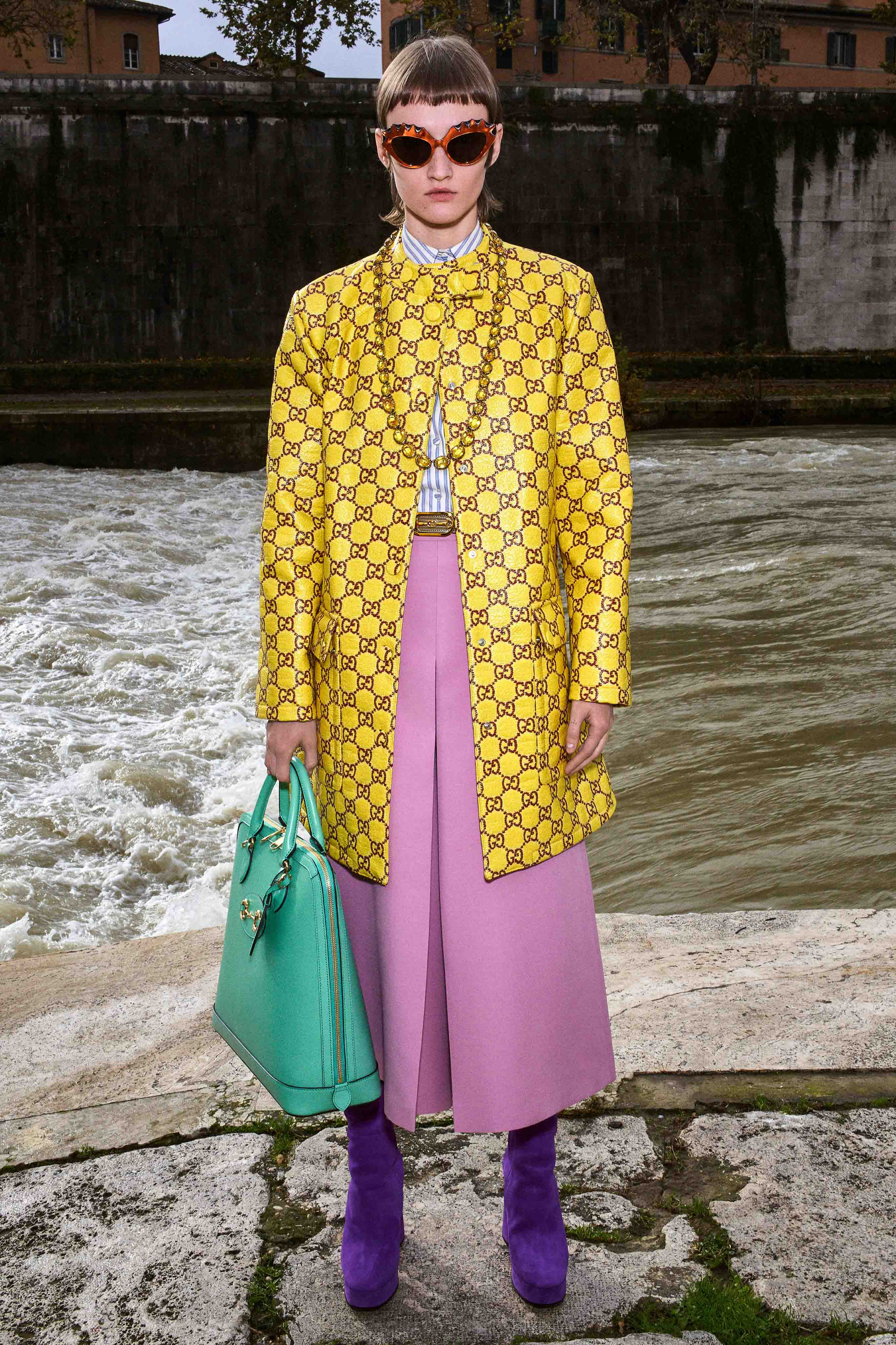 Gucci Pre fall 2020 Lookbook trends runway coverage Ready To Wear Vogue accessories