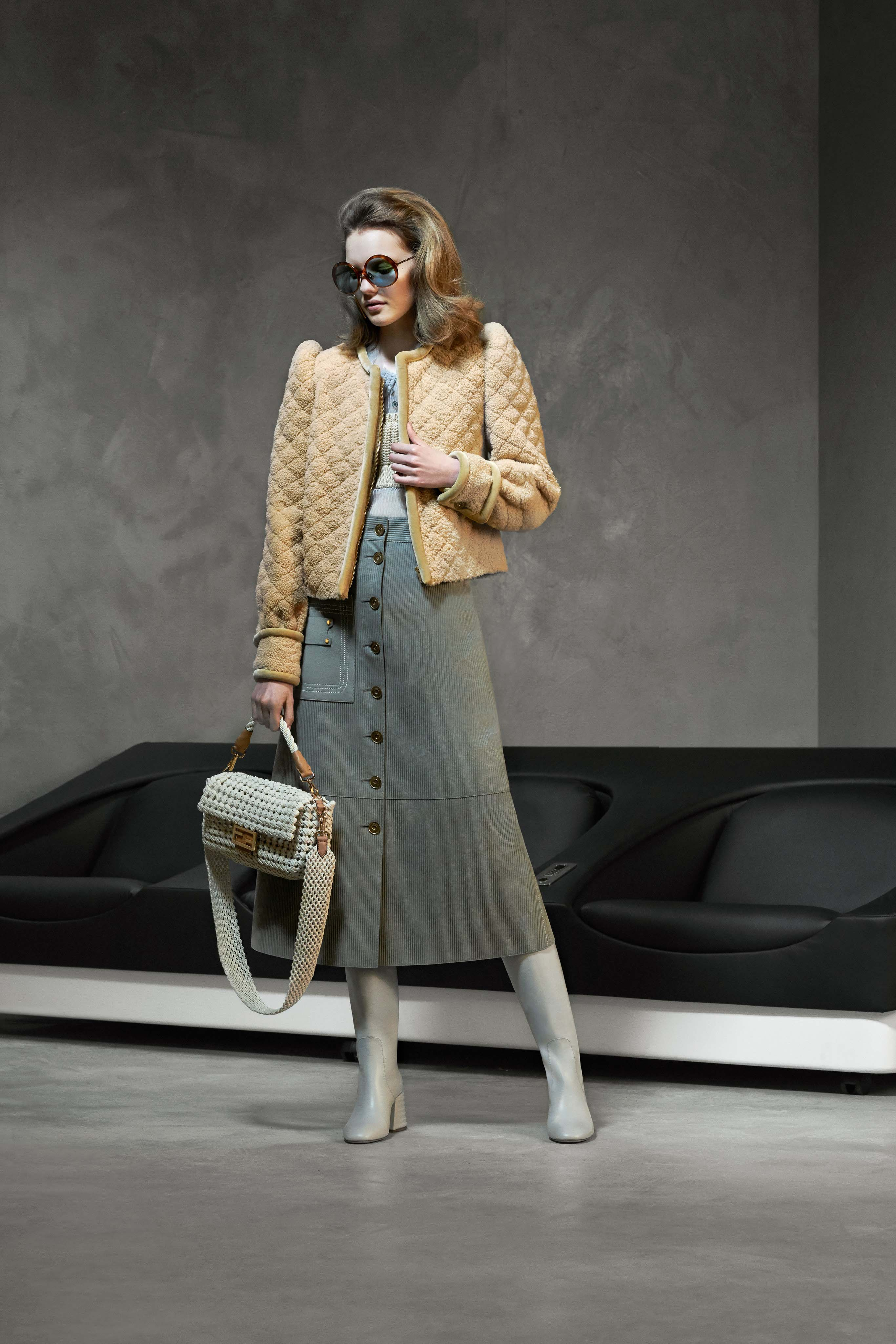 Fendi Pre fall 2020 Lookbook trends runway coverage Ready To Wear Vogue accessories