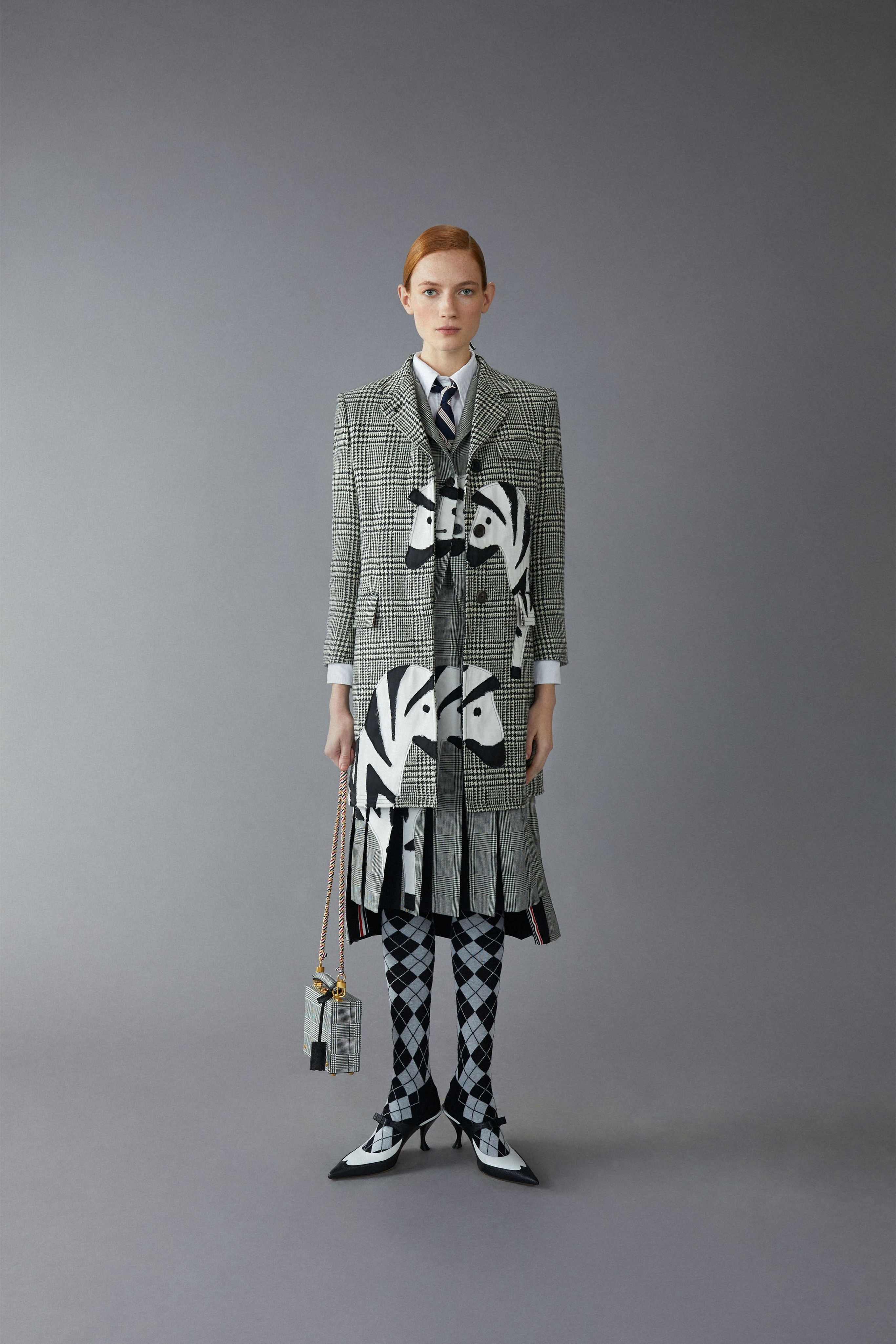 Thom Browne Pre fall 2020 Lookbook trends runway coverage Ready To Wear Vogue Preppy