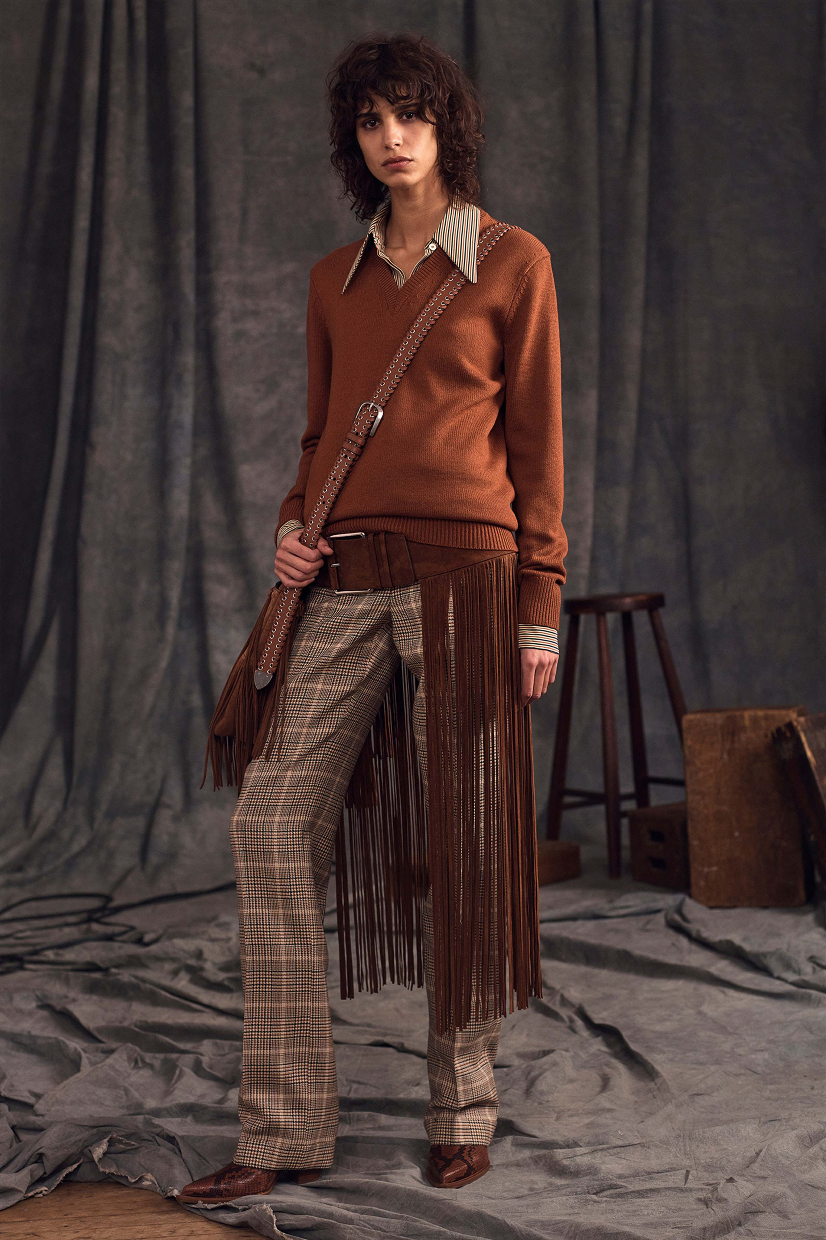 Michael Kors Pre fall 2020 Lookbook trends runway coverage Ready To Wear Vogue Fringes