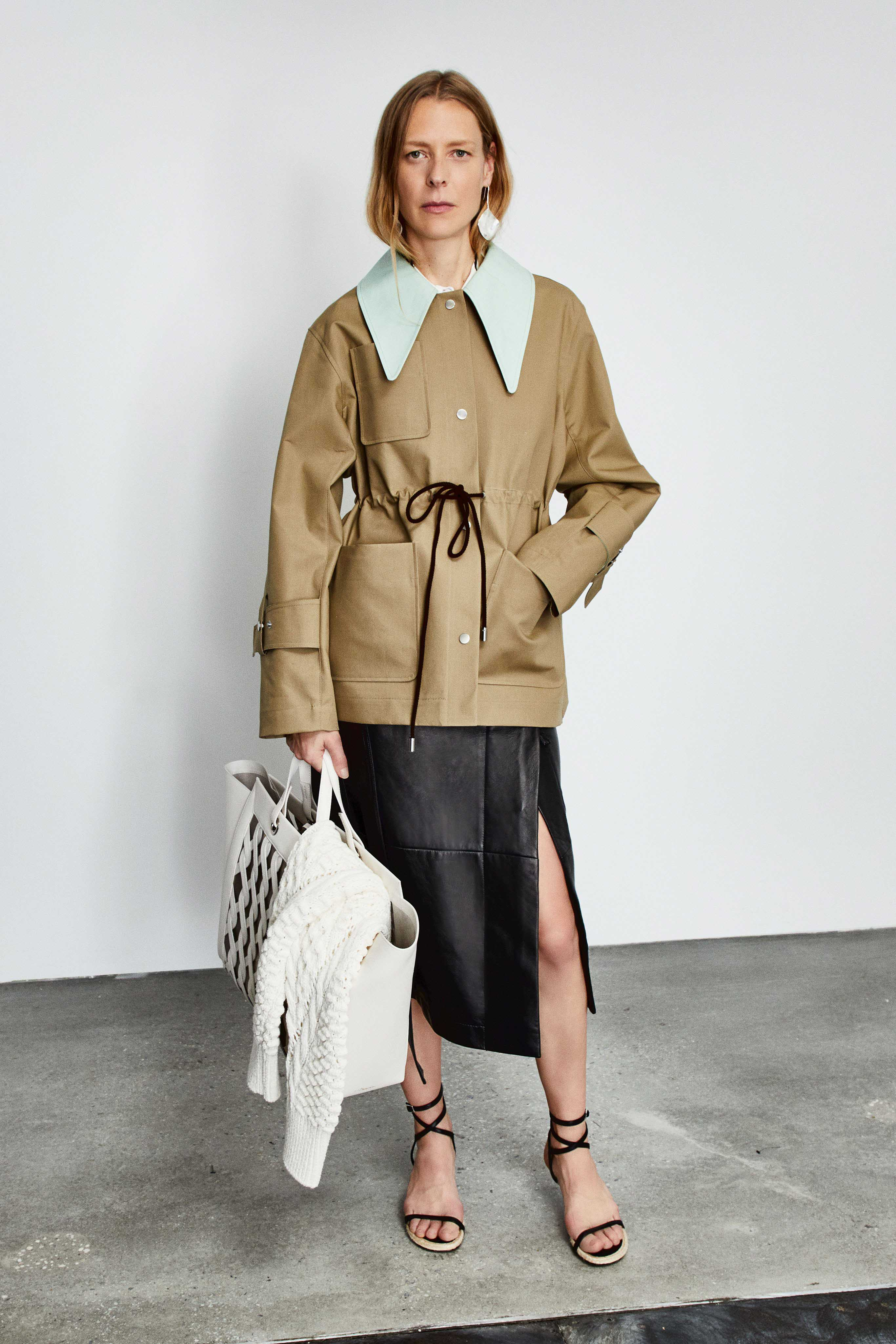3.1 Phillip Lim Pre fall 2020 Lookbook trends runway coverage Ready To Wear Vogue skirt with slit