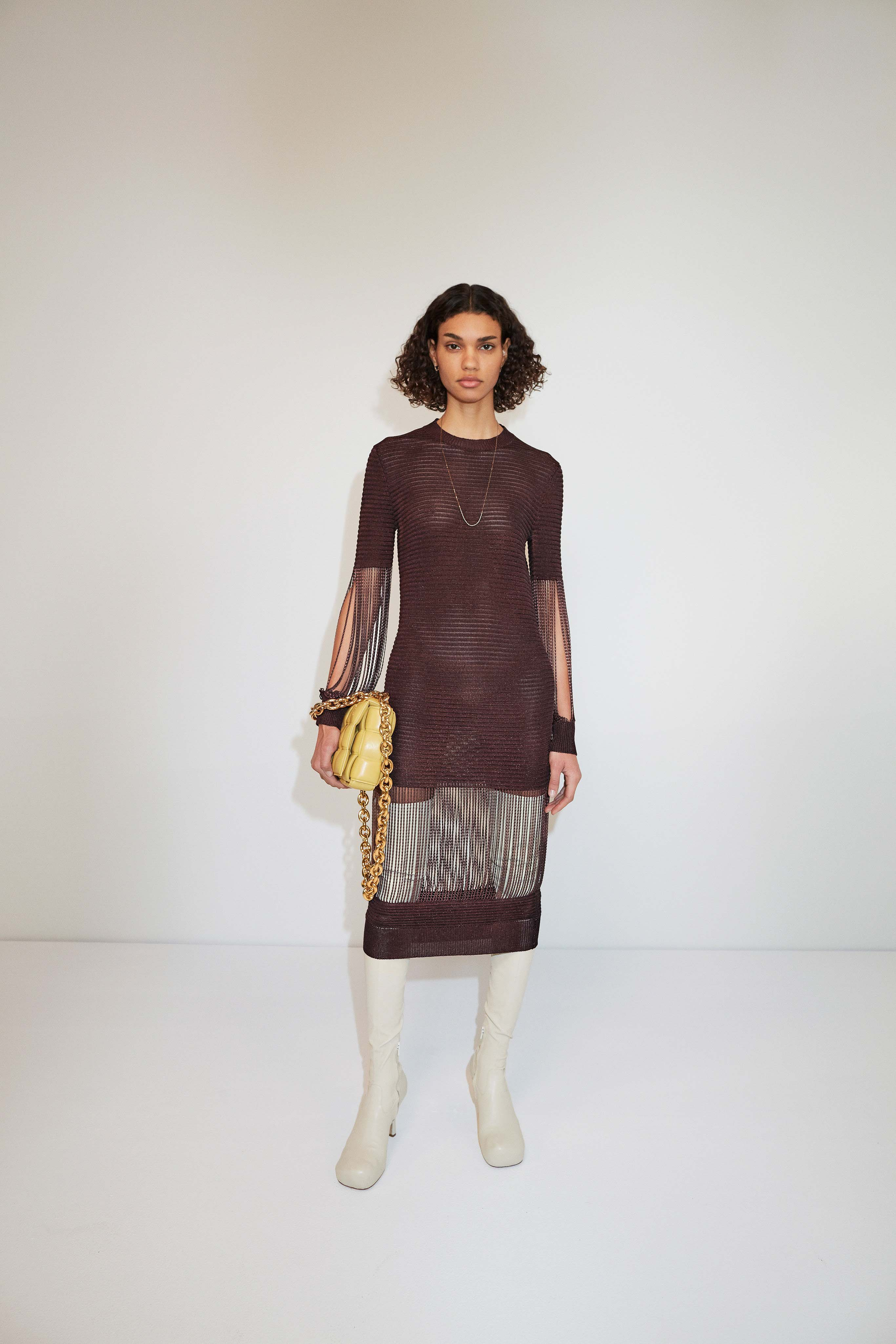 Bottega Veneta Pre fall 2020 Lookbook trends runway coverage Ready To Wear Vogue Fringes