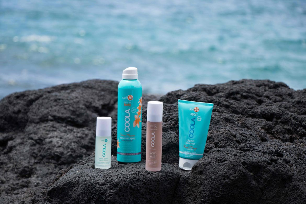 best natural sunscreen: Coola sunscreen. Learn more about these natural sunscreens containing 70% of certified organic ingredients. Coola Suncare Spray and Sport classic sunscreen, rosilliance. Learn more on on MODERSVP.com or pin to read it later.