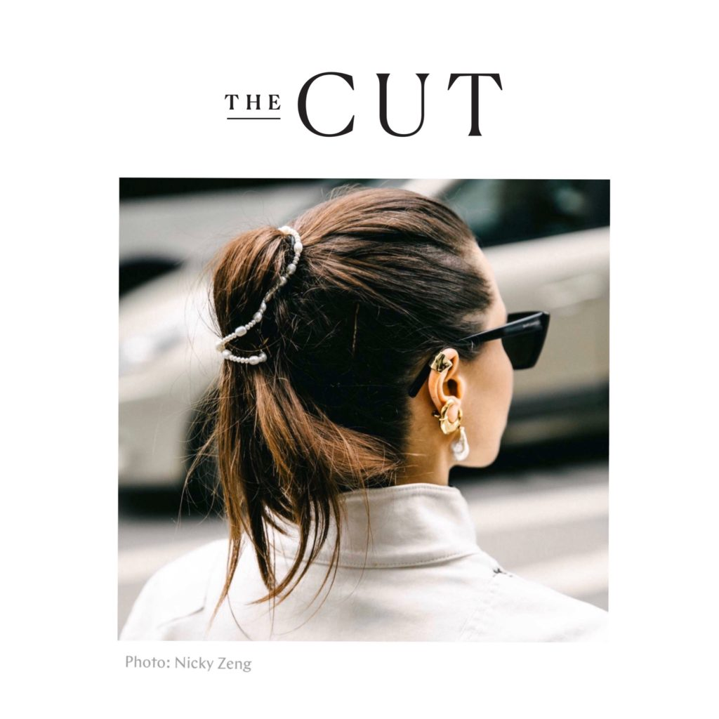 The Cut - Best of Paris Fashion Week Street Style AW2020 March 2020 - French fashion influencer Julia Comil shot by Nicky Zeng - press