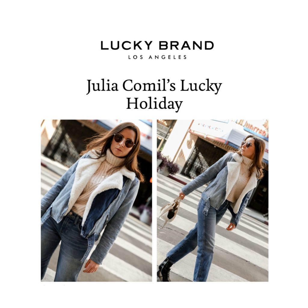 Lucky Brand Interview of Julia Comil, a French fashion blogger based in Los Angeles