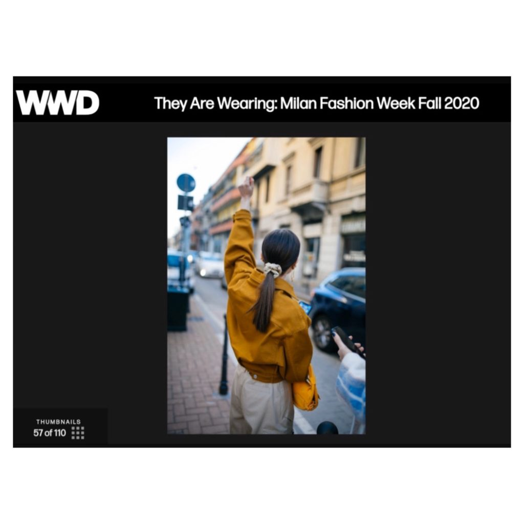 WWD Julia Comil Milan Fashion Week Balmain Barbara Bui Nanushka