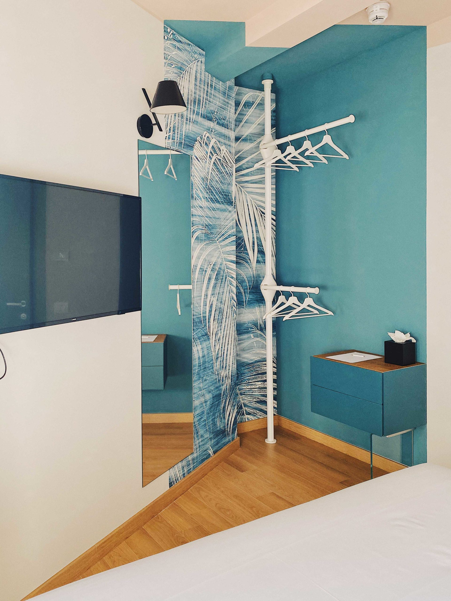 Where to find an affordable design hotel in Milan: 21 Wol Milano Centro.