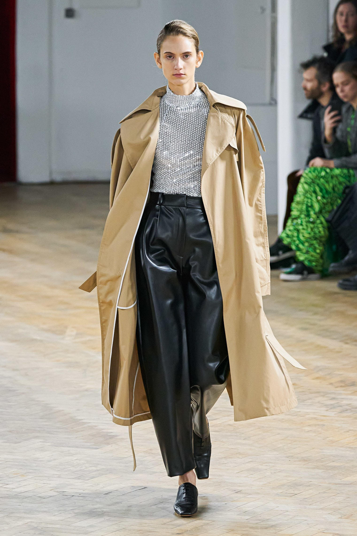 A.W.A.K.E. Mode Fall 2020 trends runway coverage Ready To Wear Vogue minimal silver