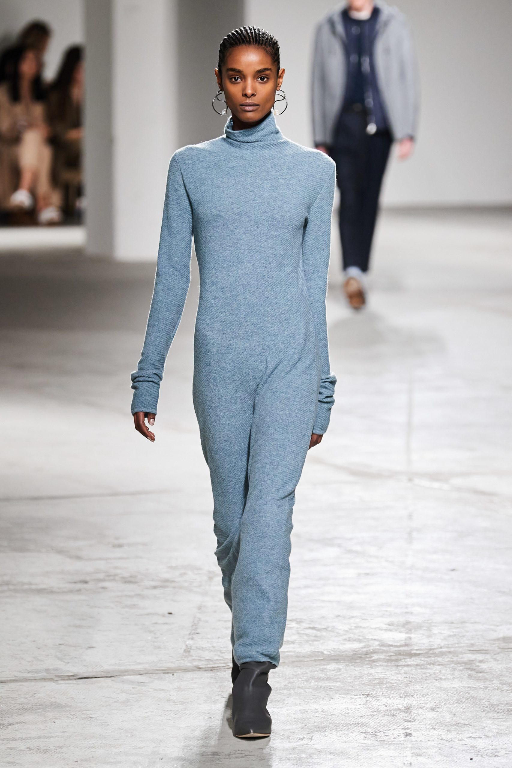 Agnona Fall Winter 2020 trends runway coverage Ready To Wear Vogue blue