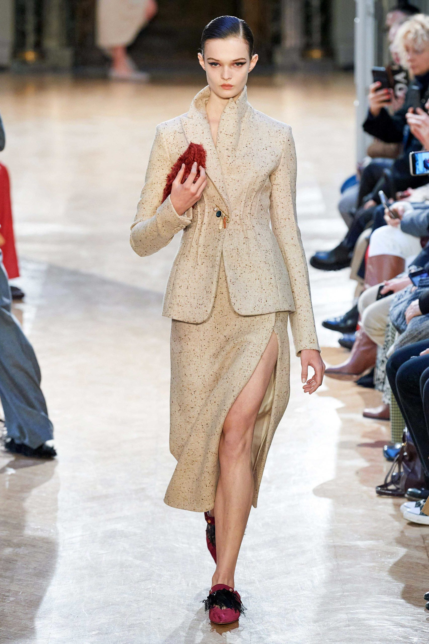 Altuzarra Fall 2020 trends runway coverage Ready To Wear Vogue skirt suit