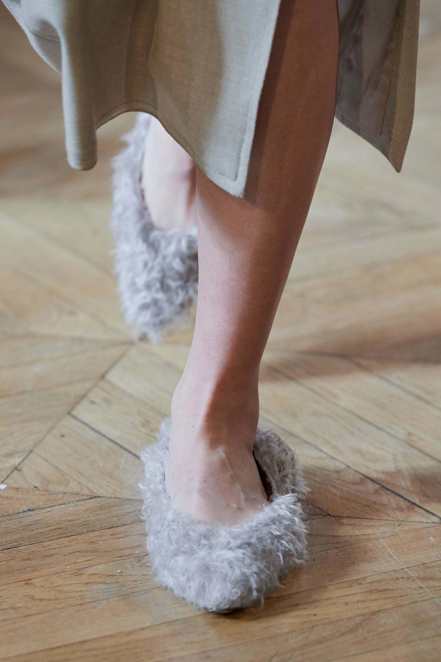 Altuzarra details Fall 2020 trends runway coverage Ready To Wear Vogue details shaggy