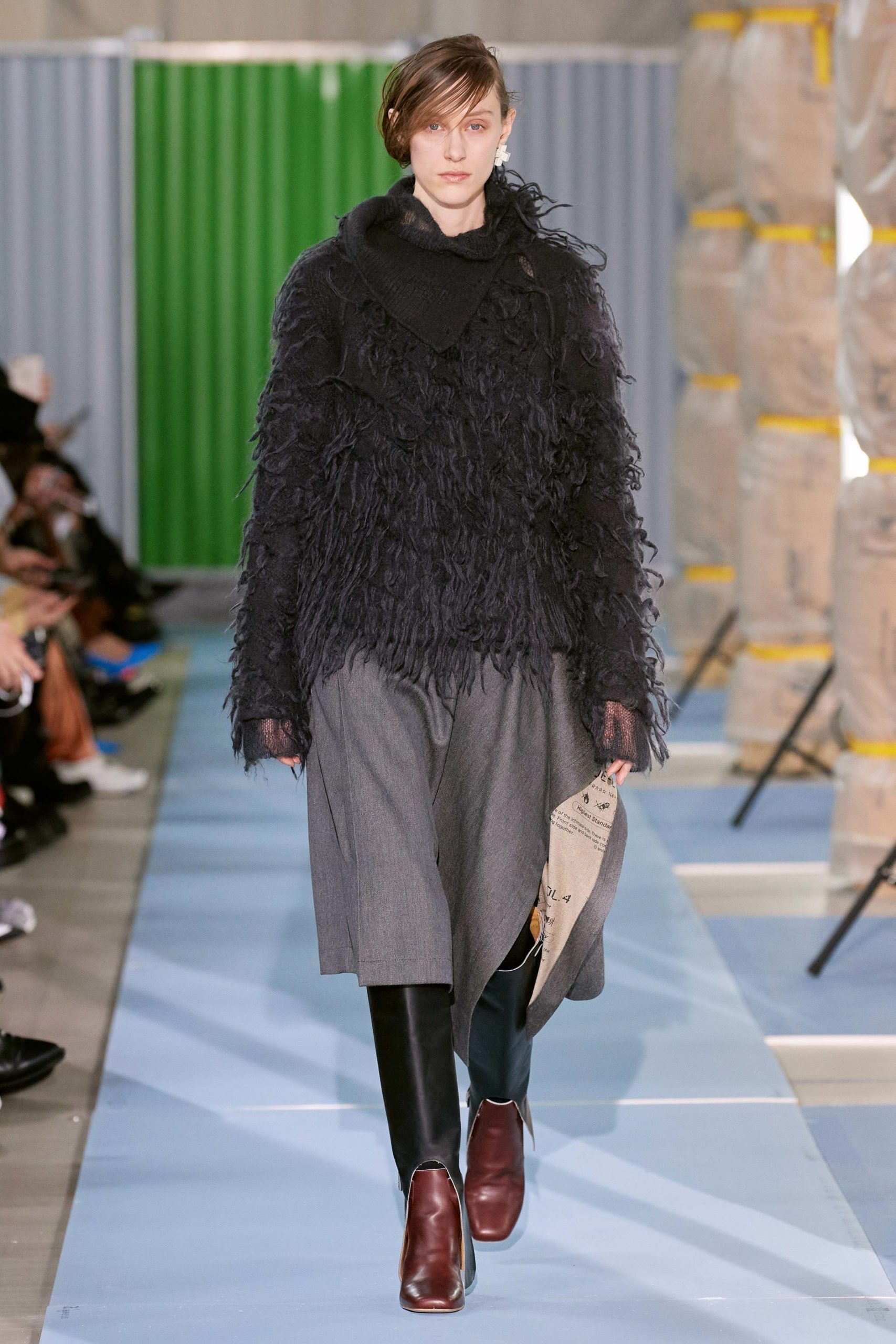 Beautiful people Fall Winter 2020 trends runway coverage Ready To Wear Vogue shaggy 2