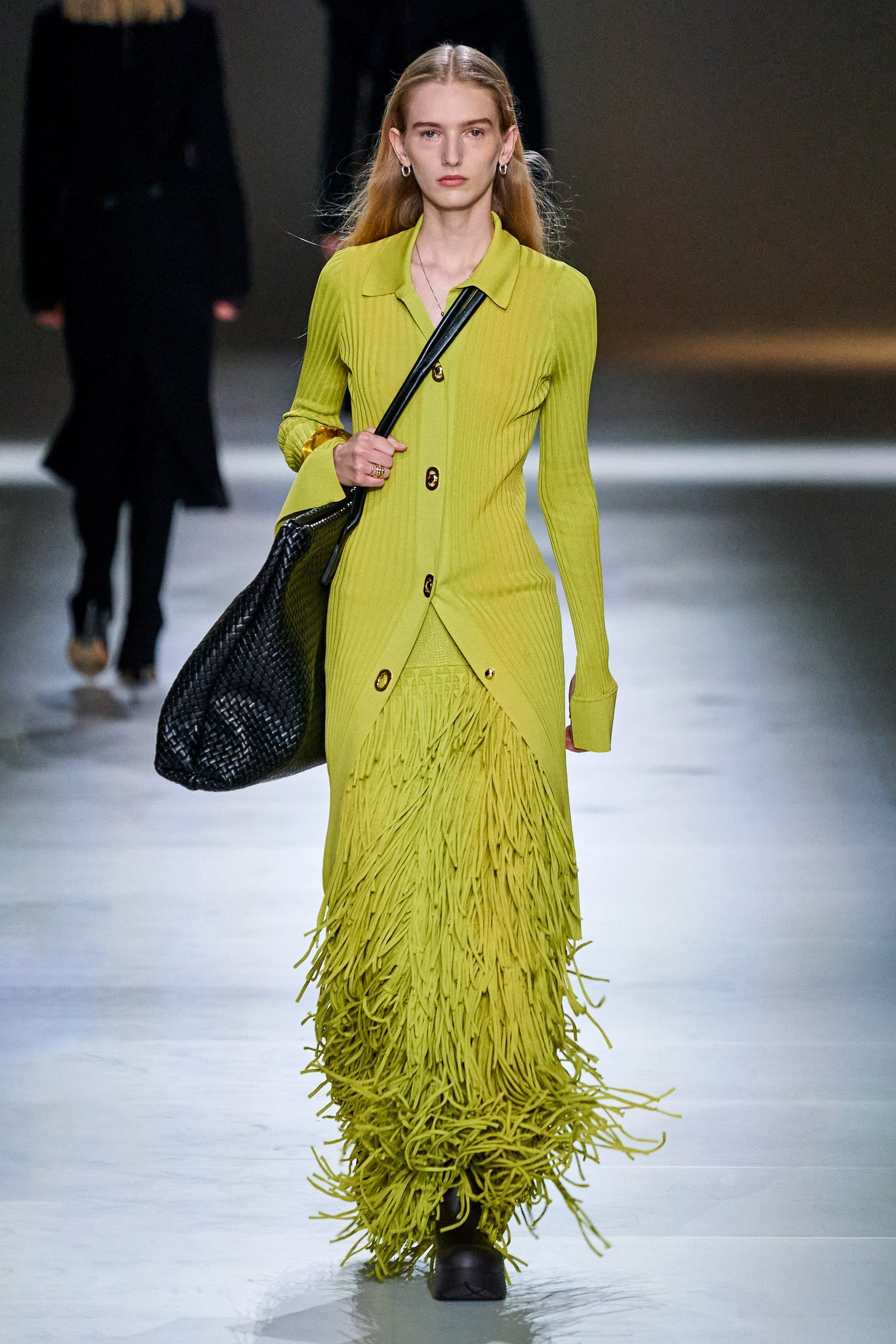 Bottega Veneta Fall 2020 trends runway report Ready To Wear Vogue Fringes 2