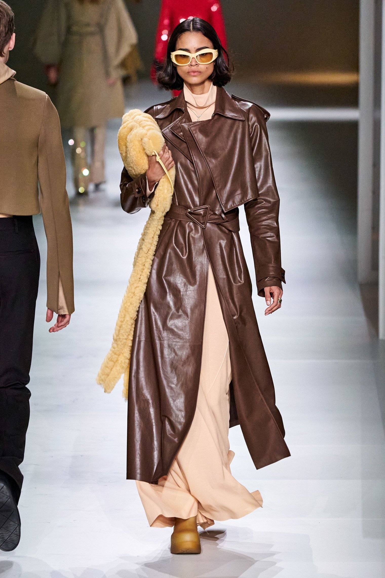 Bottega Veneta Fall 2020 trends runway report Ready To Wear Vogue brown monochrome