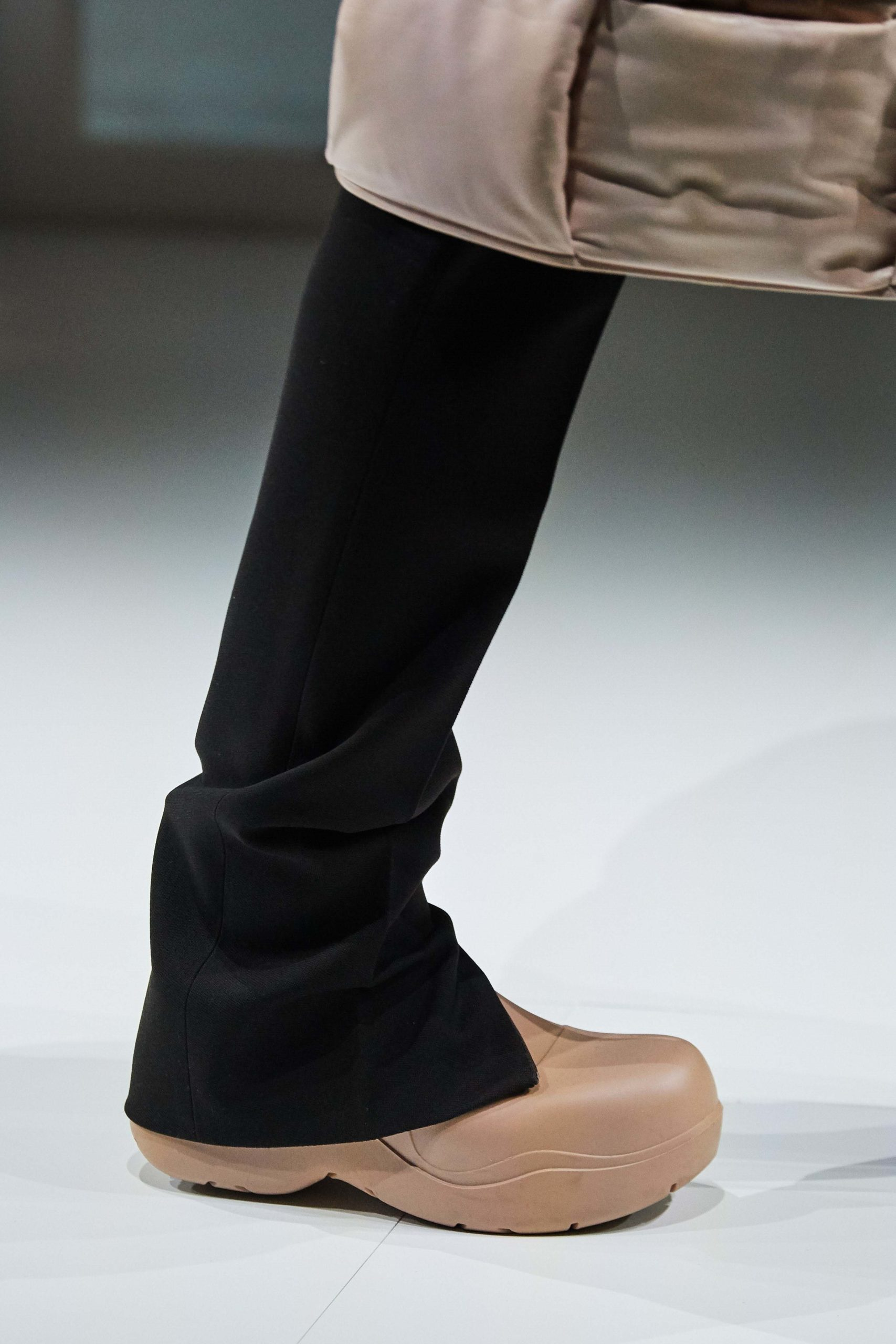 Bottega Veneta Fall 2020 trends runway report Ready To Wear Vogue details rubber rain boots