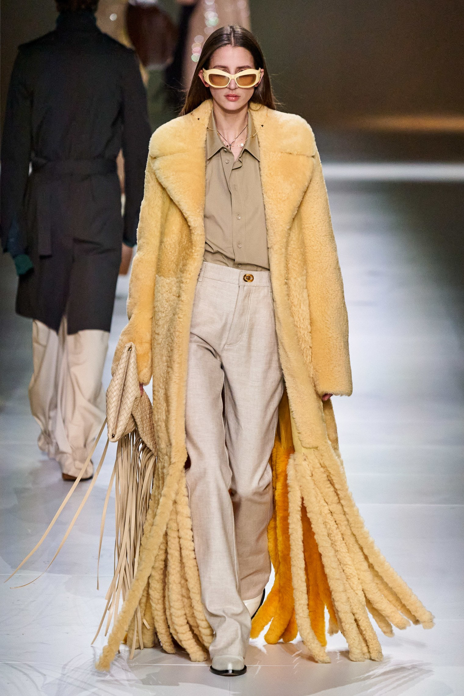 Bottega Veneta Fall 2020 trends runway report Ready To Wear Vogue nude and fringe