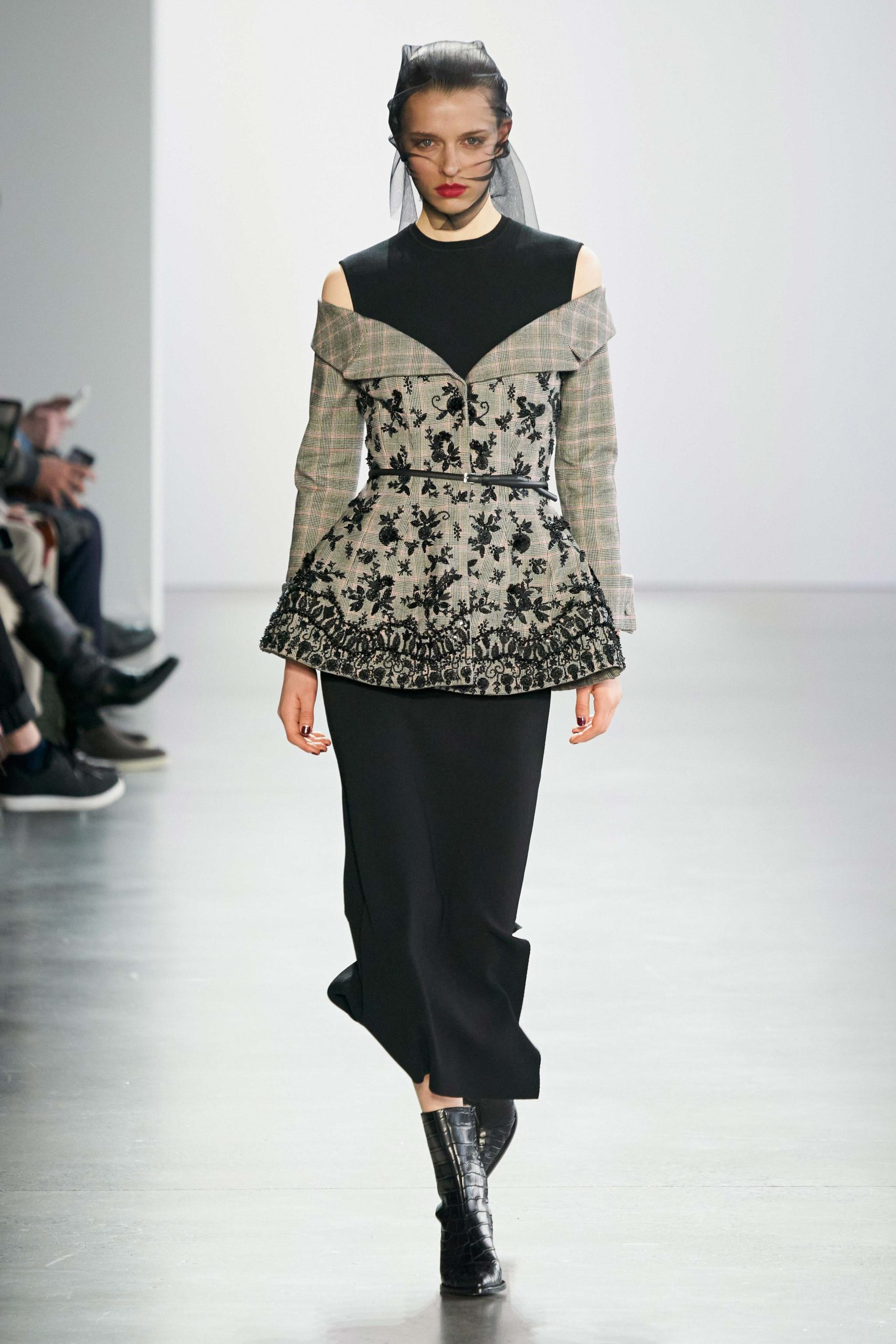 Brock Collection Fall 2020 trends runway report Ready To Wear Vogue shoulder