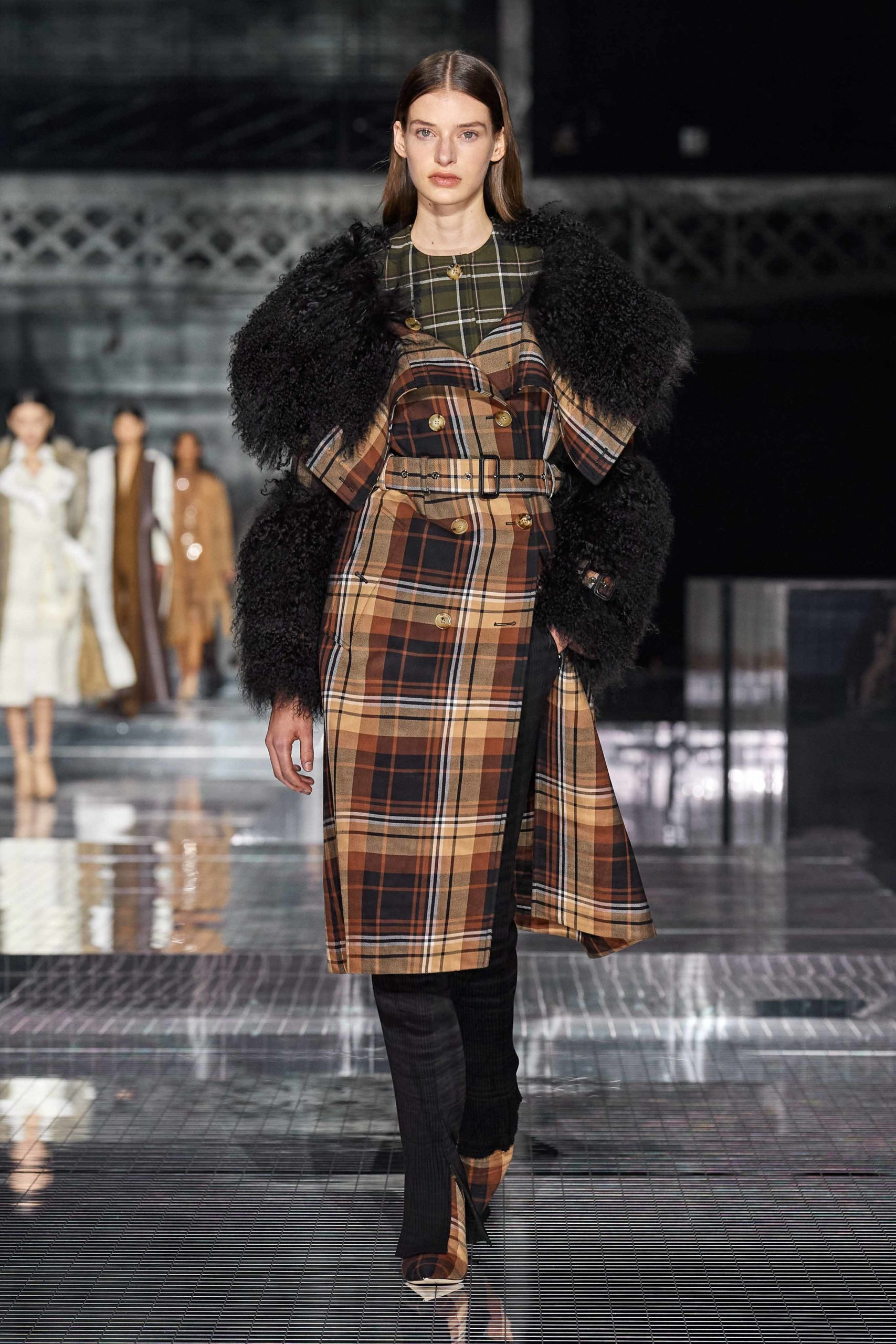 Burberry Fall 2020 trends runway report Ready To Wear Vogue shaggy