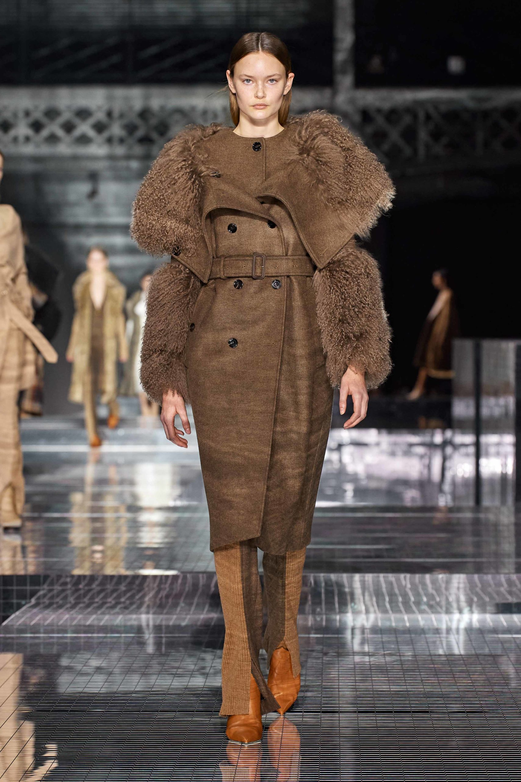 Burberry Fall 2020 trends runway report Ready To Wear Vogue shaggy shaggy