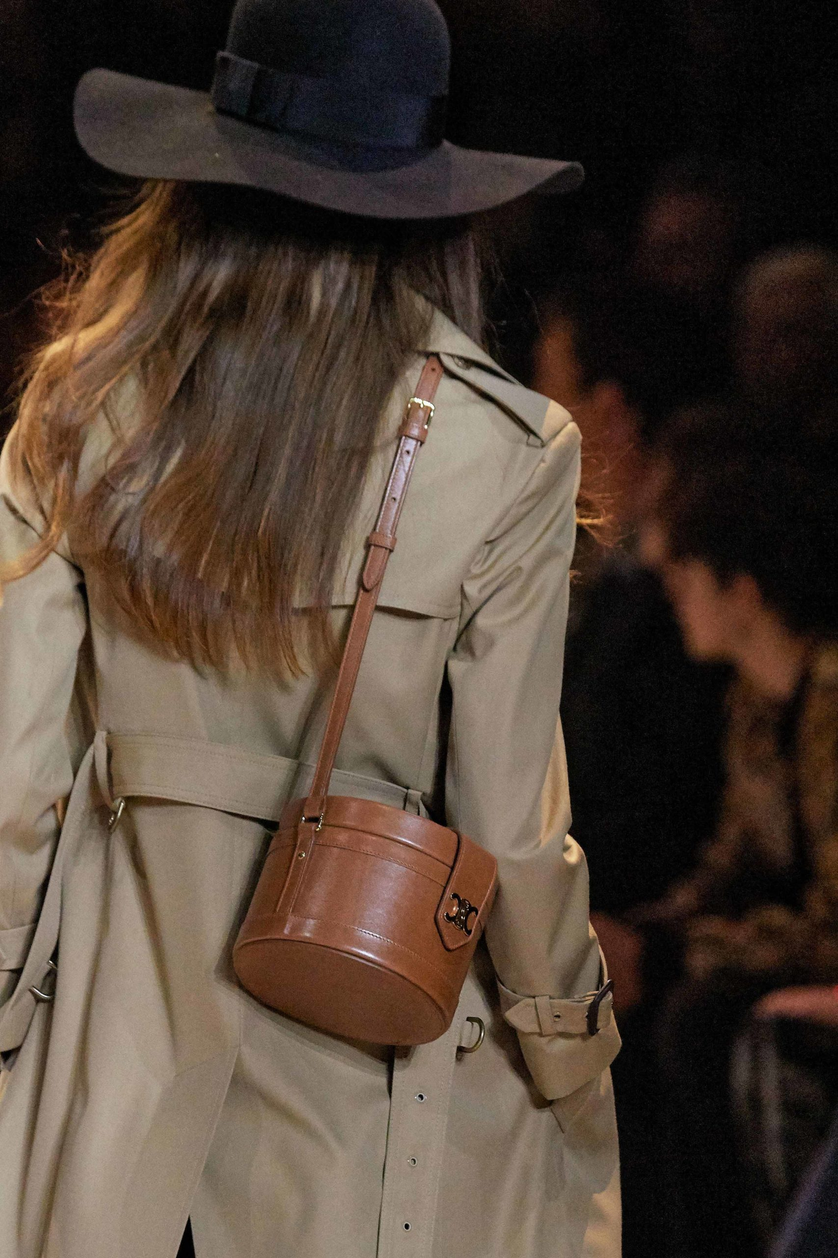 Celine Fall Winter 2020 trends runway coverage Ready To Wear Vogue brown vintage feel.