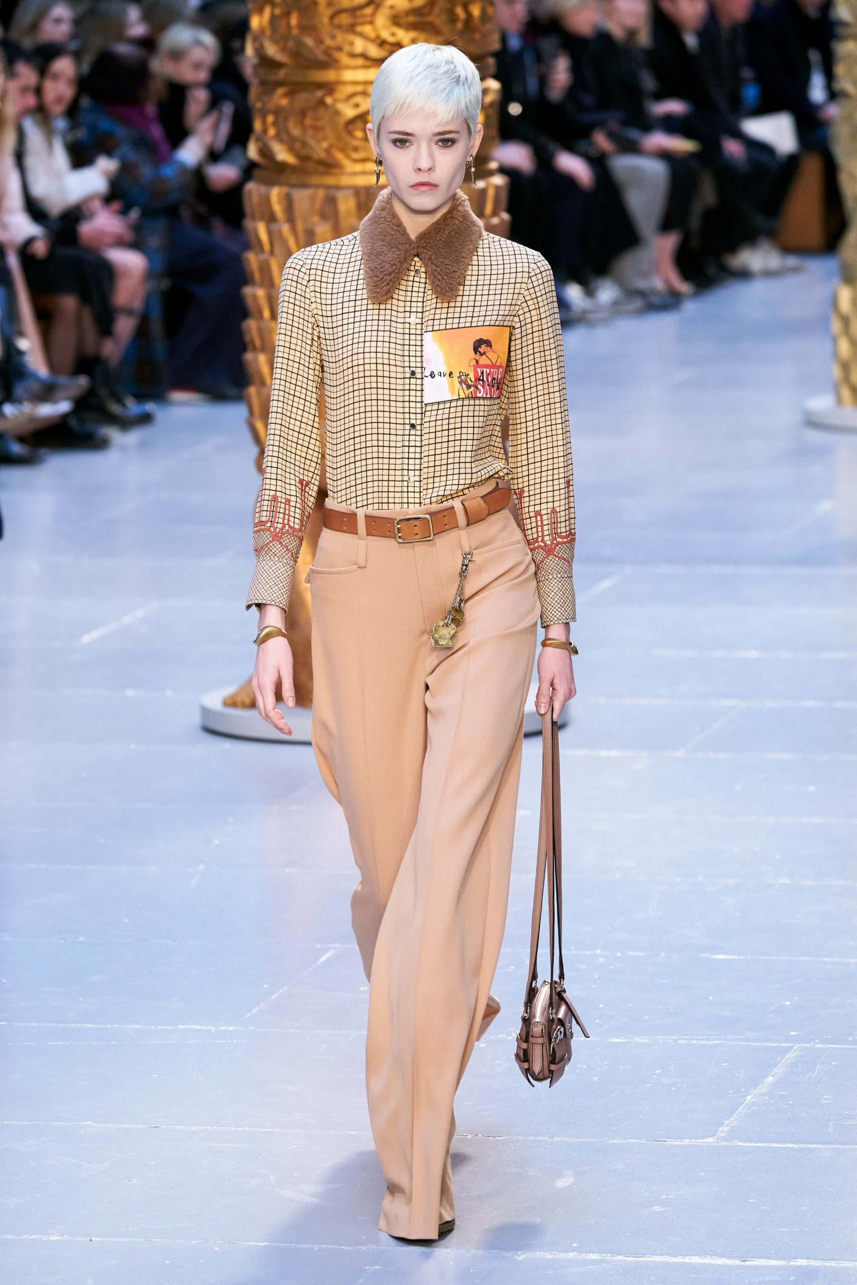 Chloe Fall Winter 2020 trends runway coverage Ready To Wear Vogue shaggy