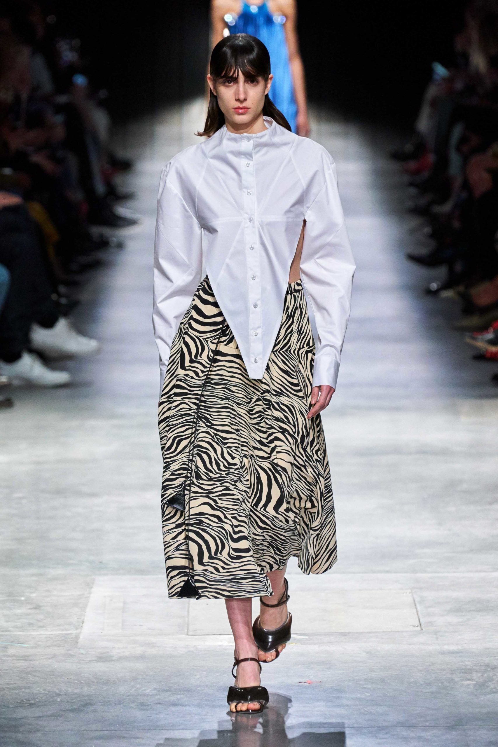 Christopher Kane Fall Winter 2020 trends runway coverage Ready To Wear Vogue cut out wild animal
