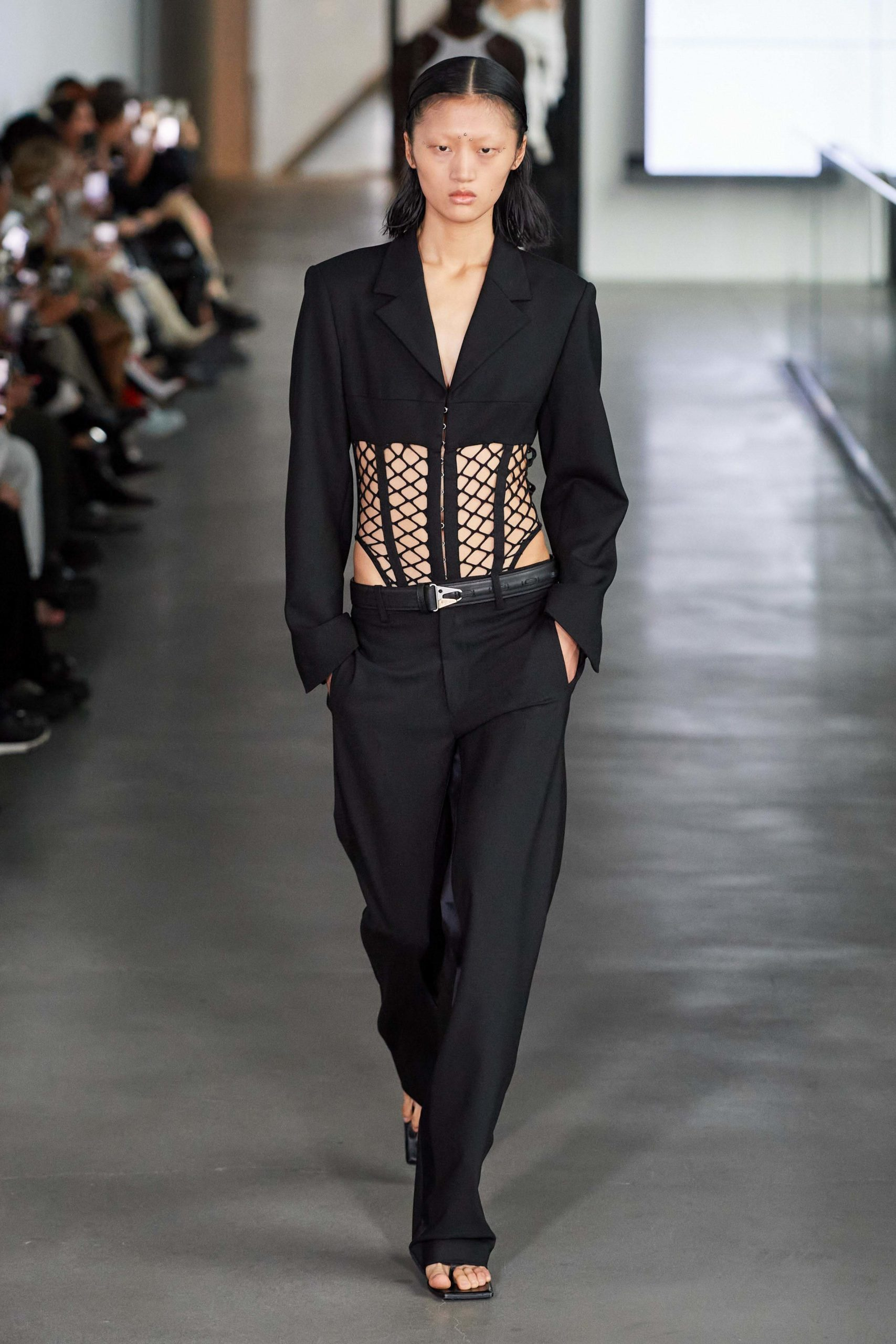 Dion Lee Fall 2020 trends runway report Ready To Wear Vogue cut out ribs